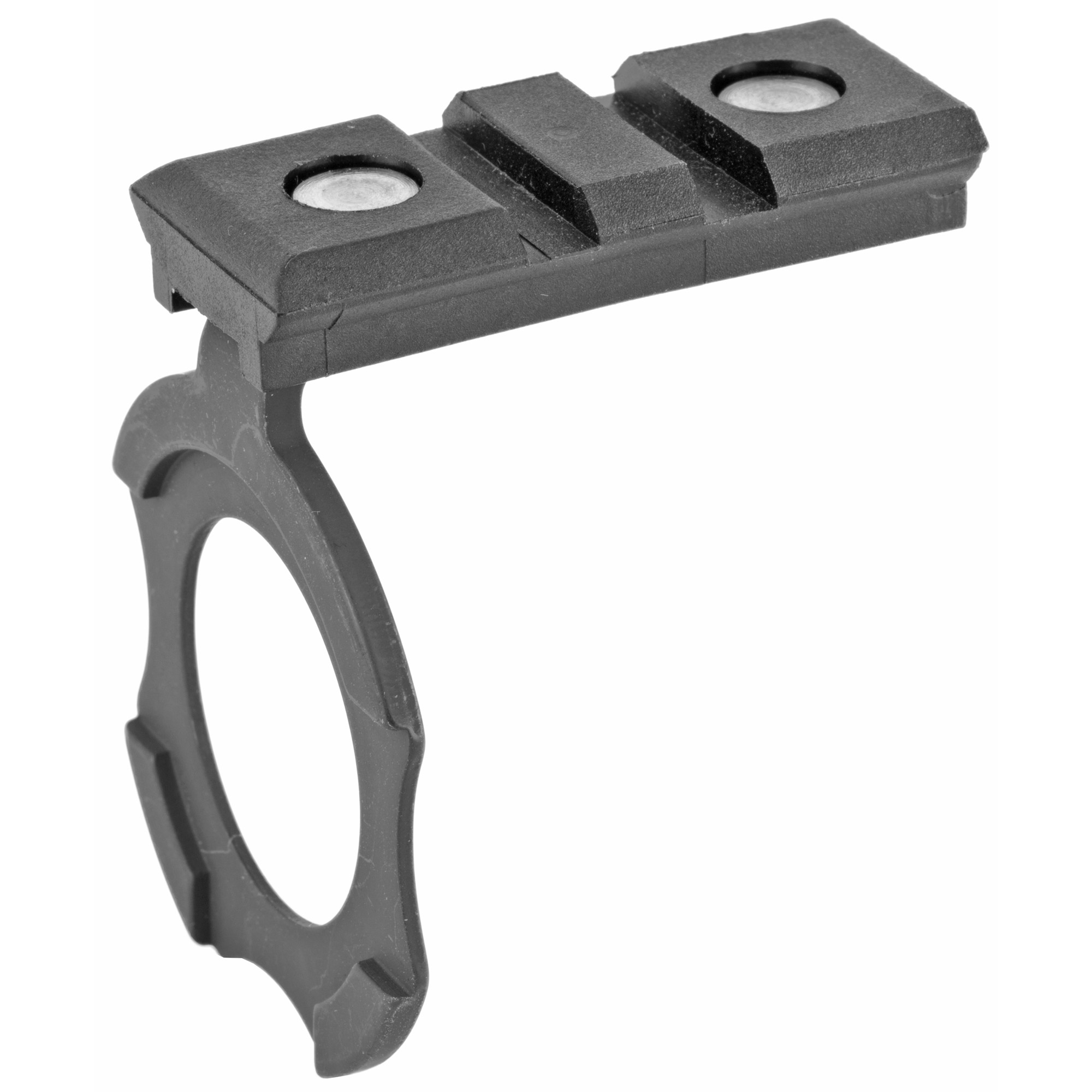 This Streamlight mount allows the installation of a tactical light on the magazine tube of your Remington 870.