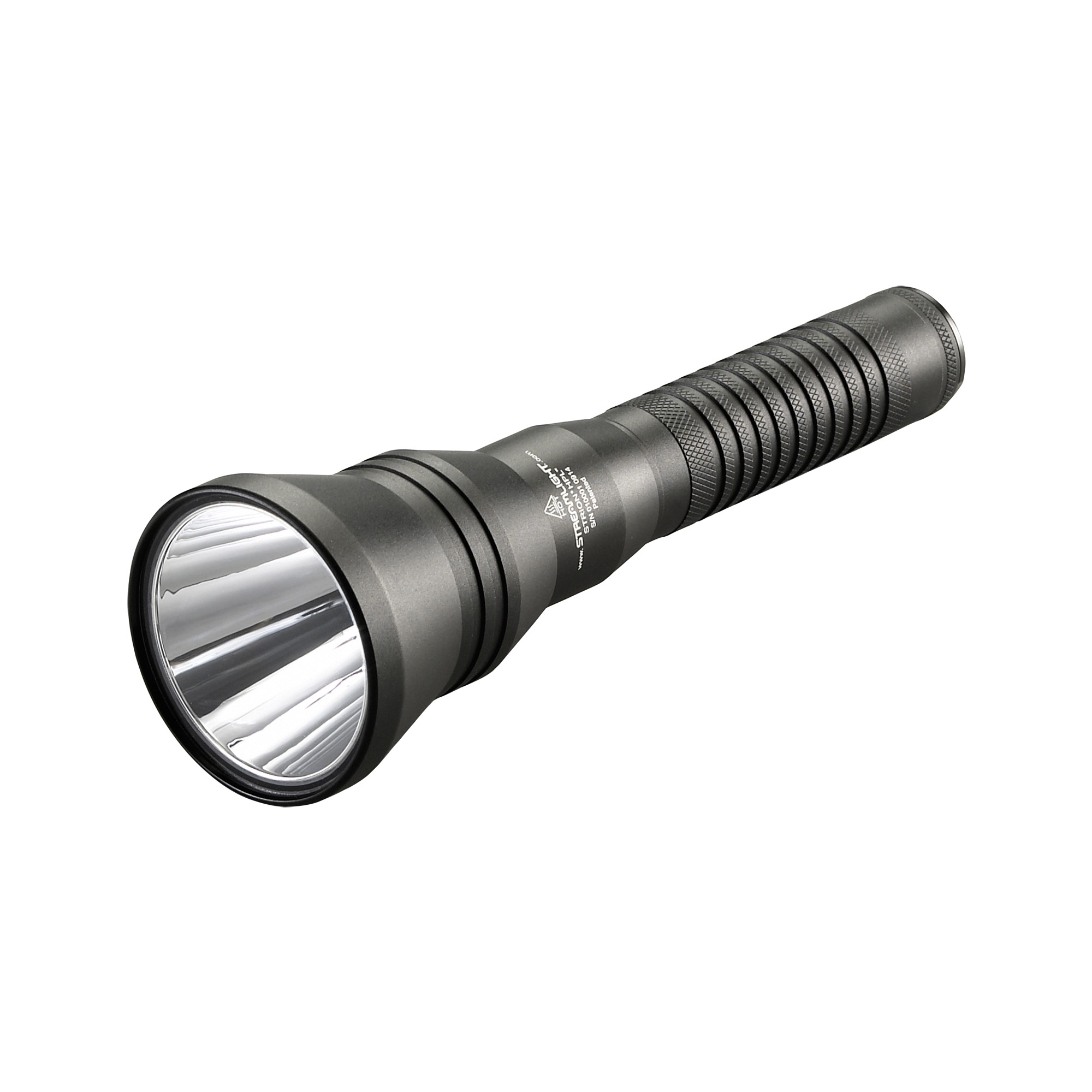 "The Strion HPL is a compact"" long-range"" hand-held flashlight that produces a wide"" 615 lumen beam pattern with brighter peripheral illumination and superior down-range performance - 400m beam distance."