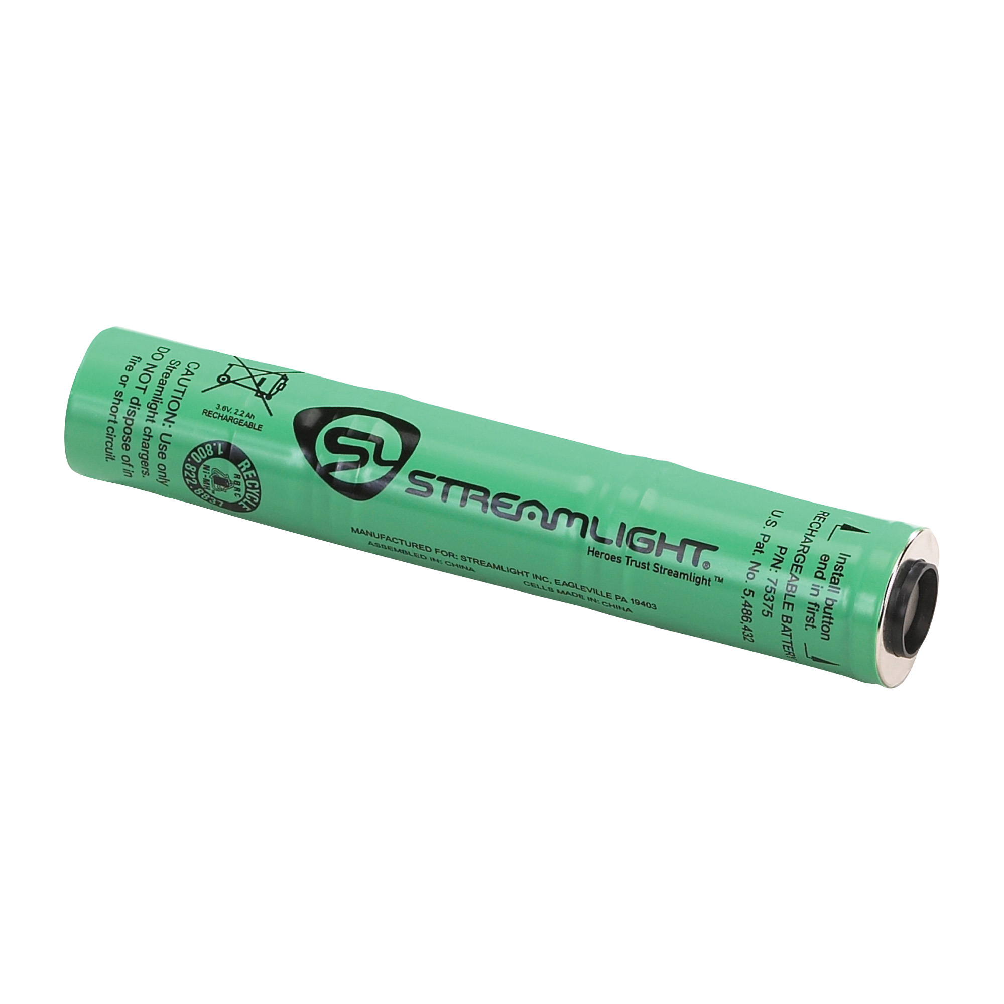 Streamlight OEM NIMH battery for Stinger light.