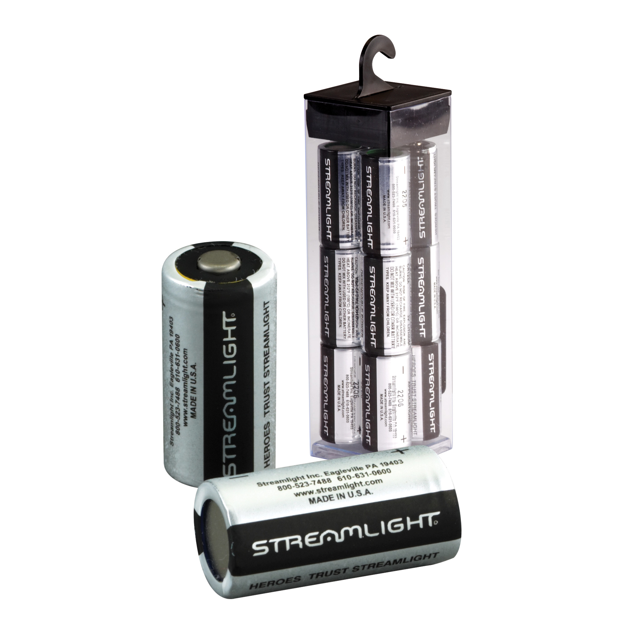Streamlight OEM 3V lithium battery.