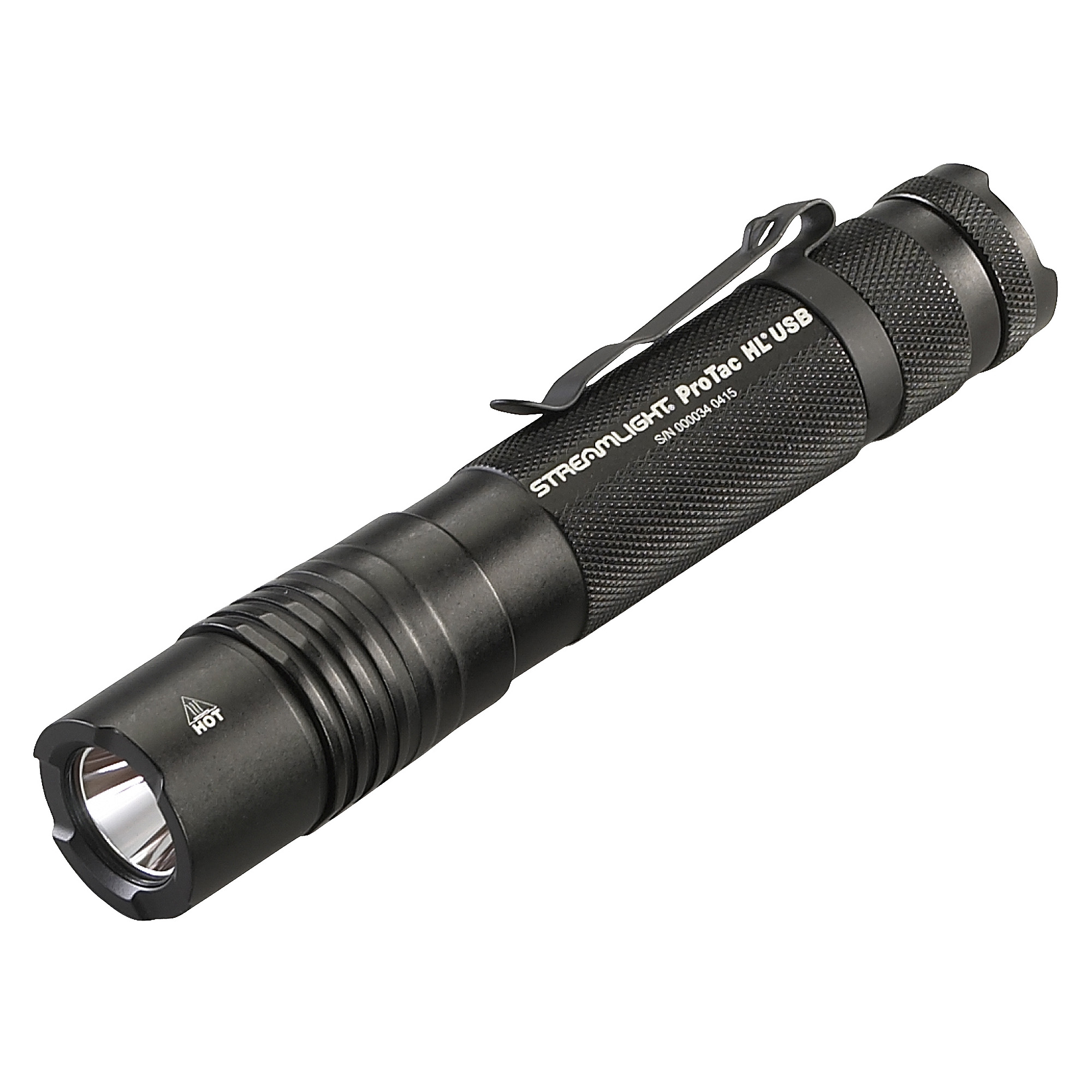 "USB rechargeable"" high lumen tactical light features multi-fuel design. It accepts multiple battery sources to use as a back up so you'll always have power when you need it. Now shining brighter at 1""000 lumens."