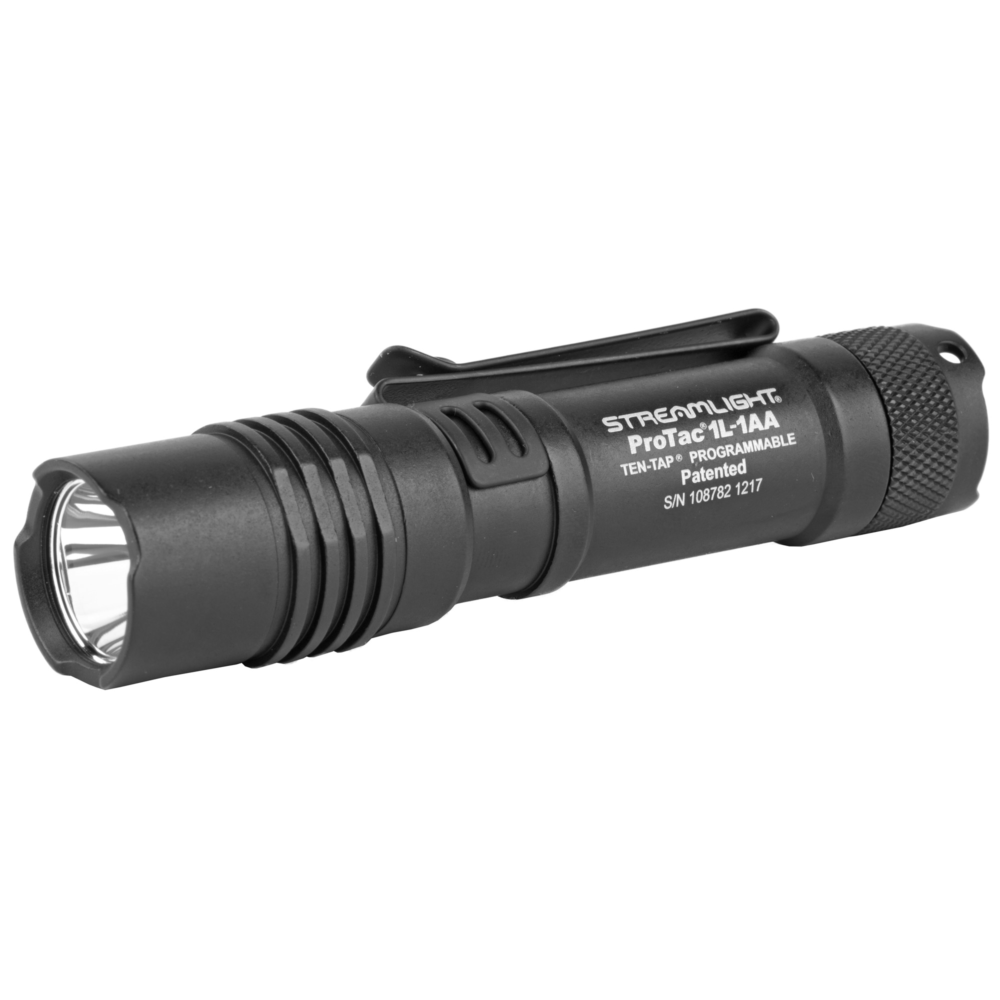 "The ProTac 1L-1AA is a perfect everyday carry light. This dual fuel ultra-compact flashlight accepts a single lithium or alkaline battery"" providing you with ultimate flexibility in the field."
