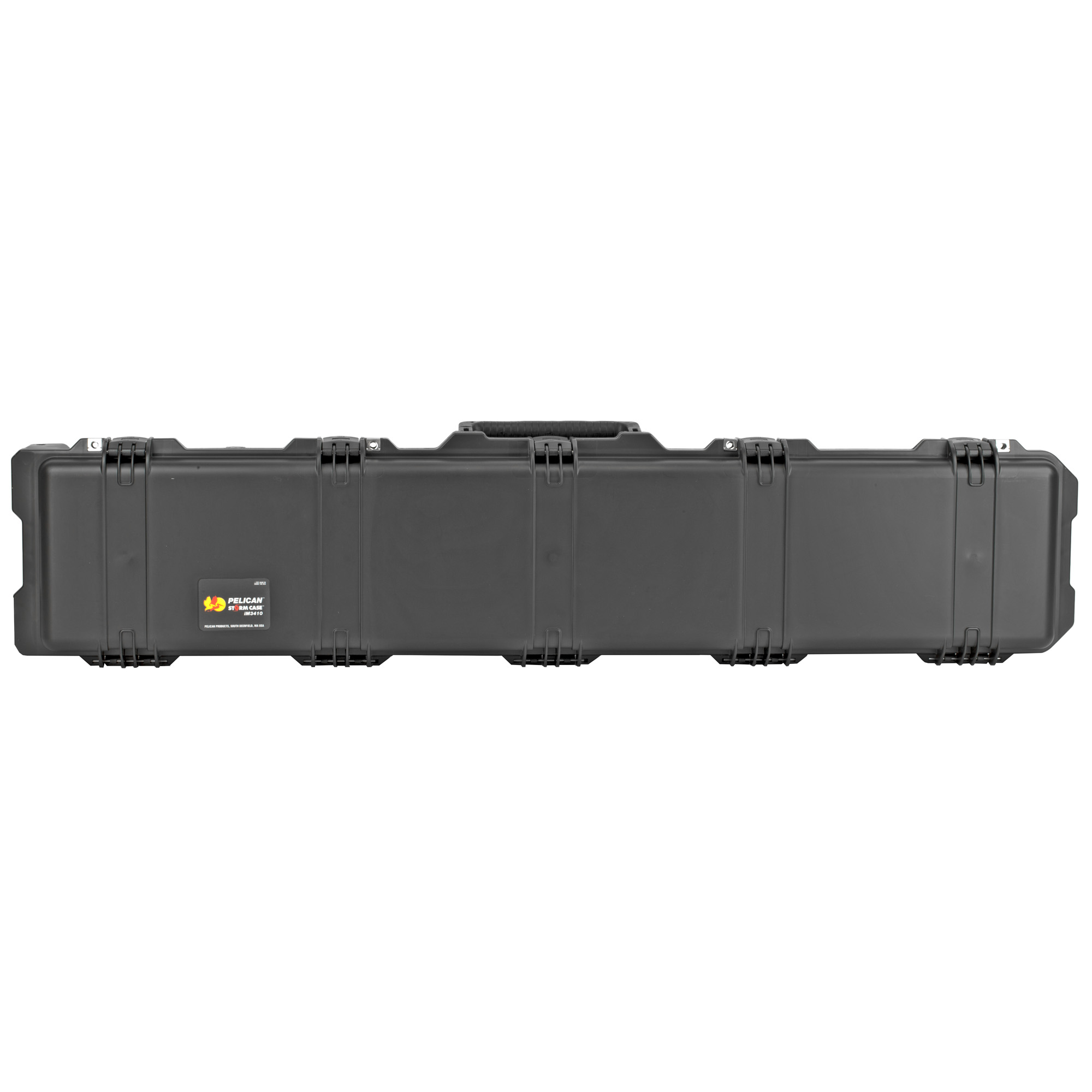 """The Storm Case(TM) has the same legendary DNA as the Pelican Protector Case"""" with one primary difference: A unique Press and Pull latch that locks automatically"""" but opens with a light touch. Guaranteed for life"""" the Pelican Storm case is made in the USA and engineered using the finest components."""