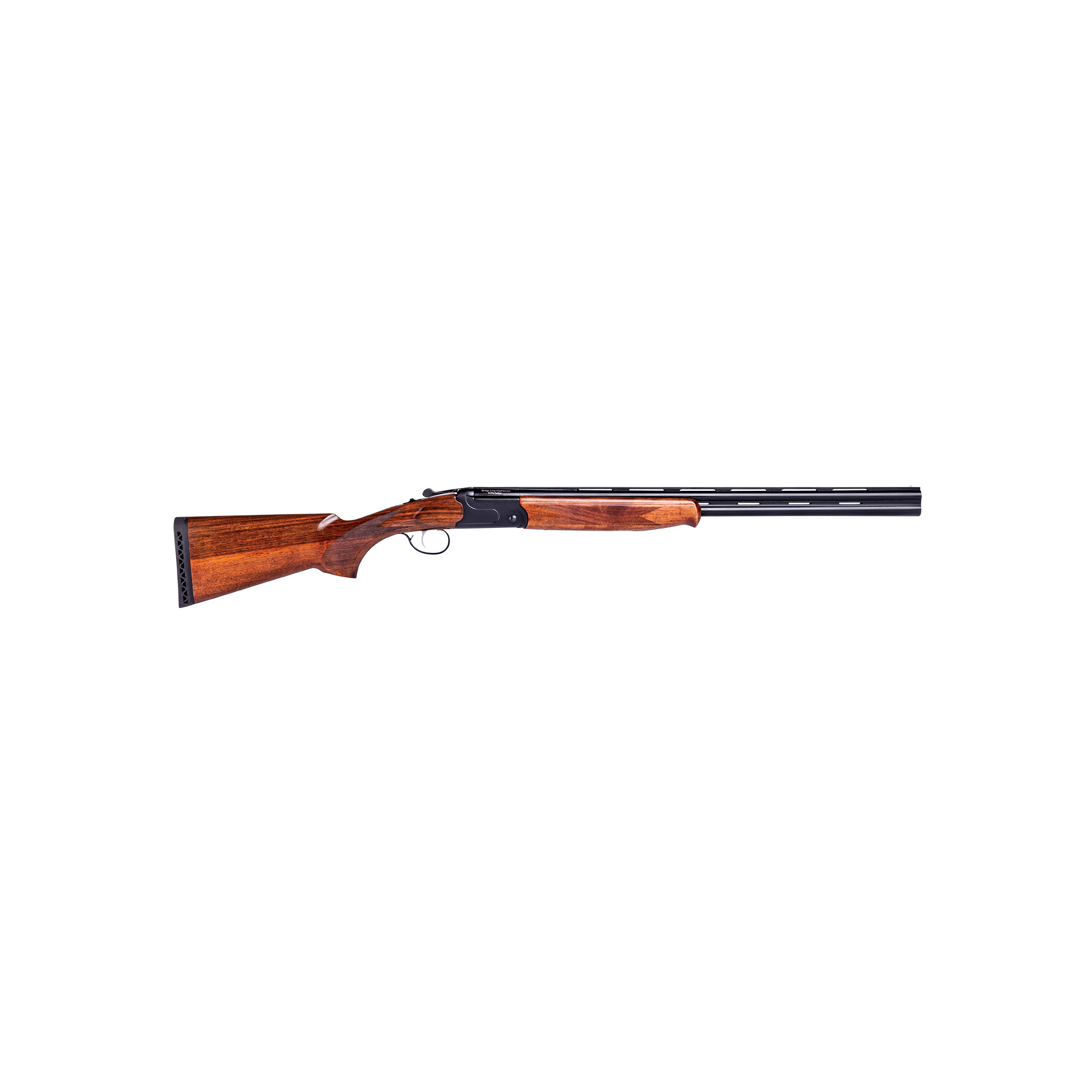"Get world-class performance in an over-under at an affordable price. The Stevens 555 is light and handles fast"" thanks to a lightweight aluminum receiver. It's also loaded with features"" including a stylish Turkish walnut stock and chrome-lined"" 28-inch carbon steel barrels."