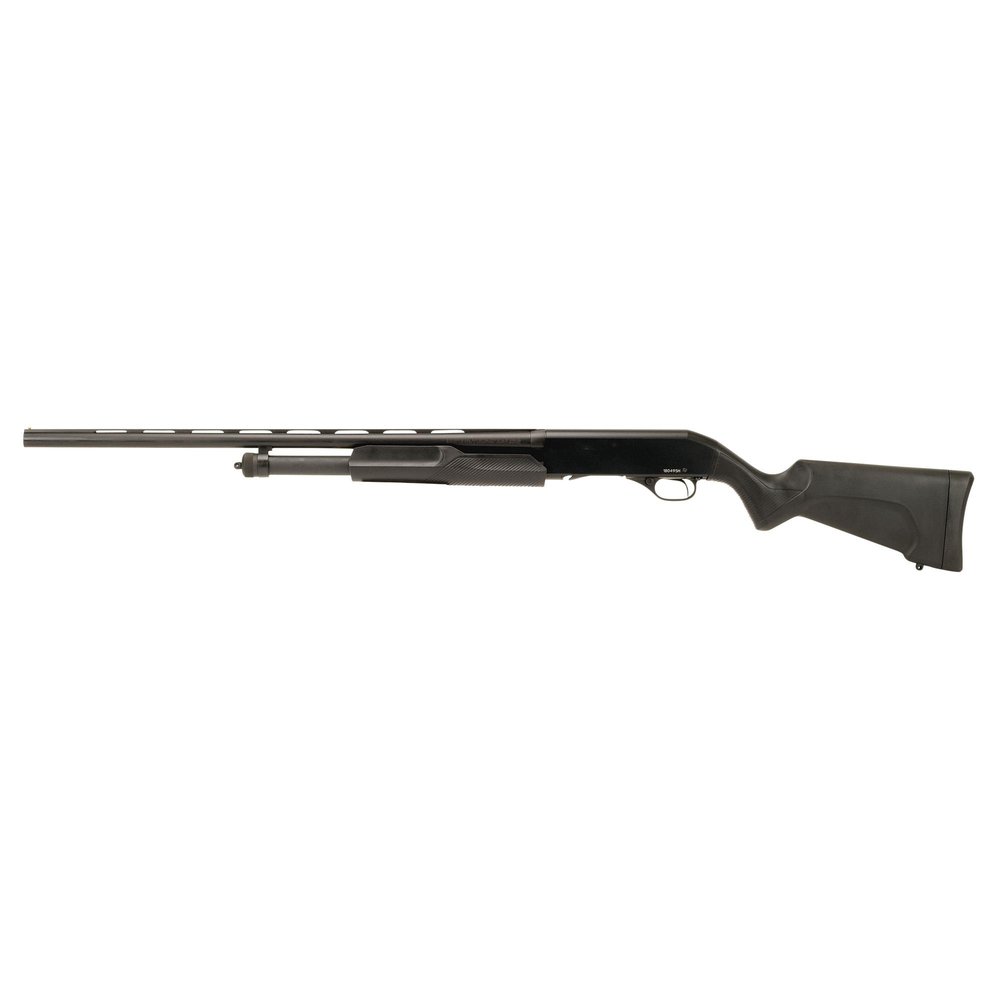 "Model 320 shotguns feature a smooth"" reliable pump action"" proven rotary bolt and dual slide-bars. Whether you're shooting trap or upland birds"" you can always count on reliable performance from the Stevens 320."
