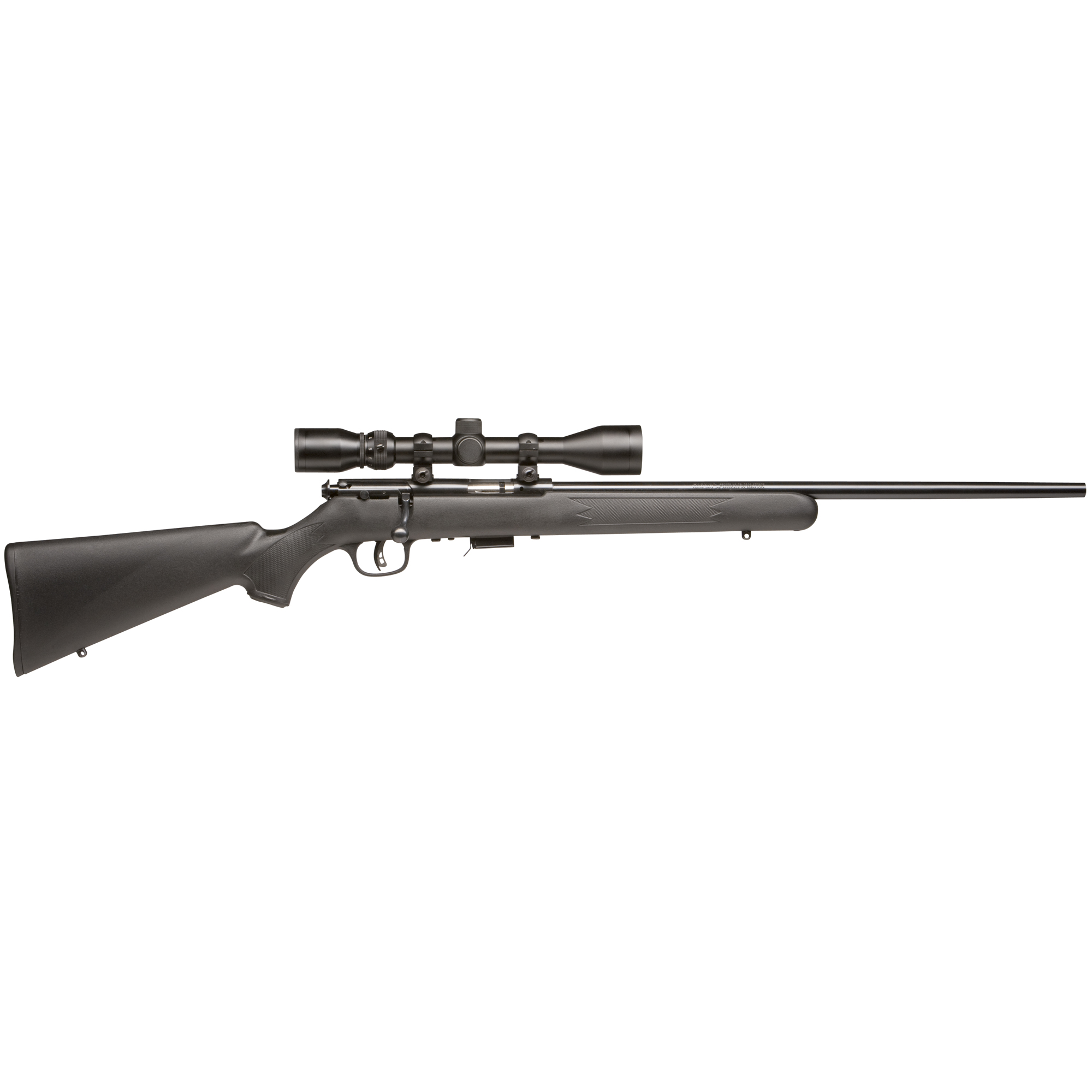 Savage combines the extra punch of the 17 HMR cartridge with the precision of the user-adjustable AccuTrigger(TM) in the Model 93.
