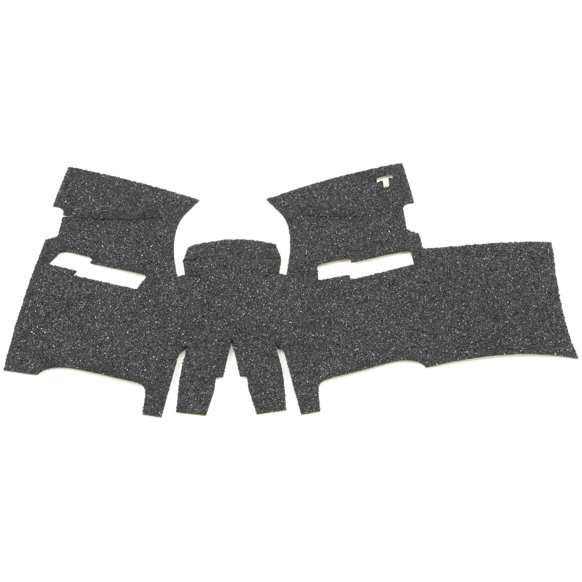 """TALON Grips for Sig Sauer P250 and P320 9mm/.357/.40./45 Compact with the medium module. This rear wrap grip is in granulate texture and offers full side panel coverage including the thumb rest area"""" full coverage under the trigger guard"""" and high coverage on the backstrap. This grip has a graphic cutout for the Sig Sauer emblem."""