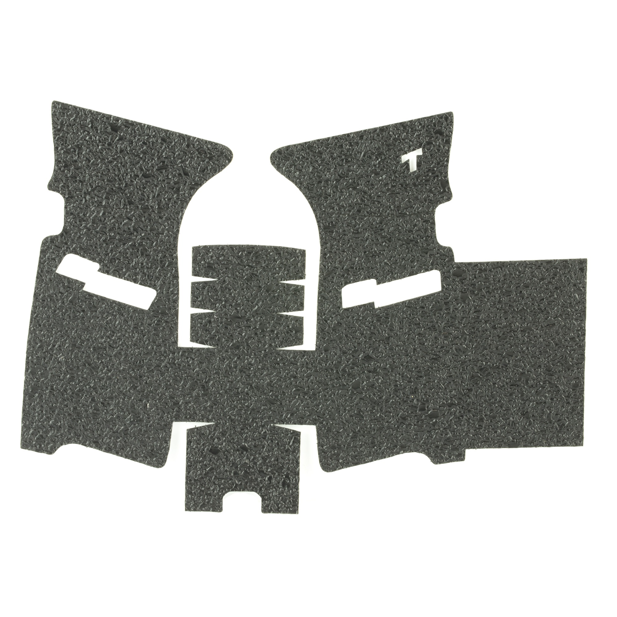 """TALON Grips for Sig Sauer P250 and P320 9mm/.357/.40./45 Full Size/Carry with the medium module. This rear wrap grip is in the rubber texture and offers full side panel coverage including the thumb rest area"""" full coverage under the trigger guard"""" and high coverage on the backstrap. This grip has a graphic cutout for the Sig Sauer emblem."""
