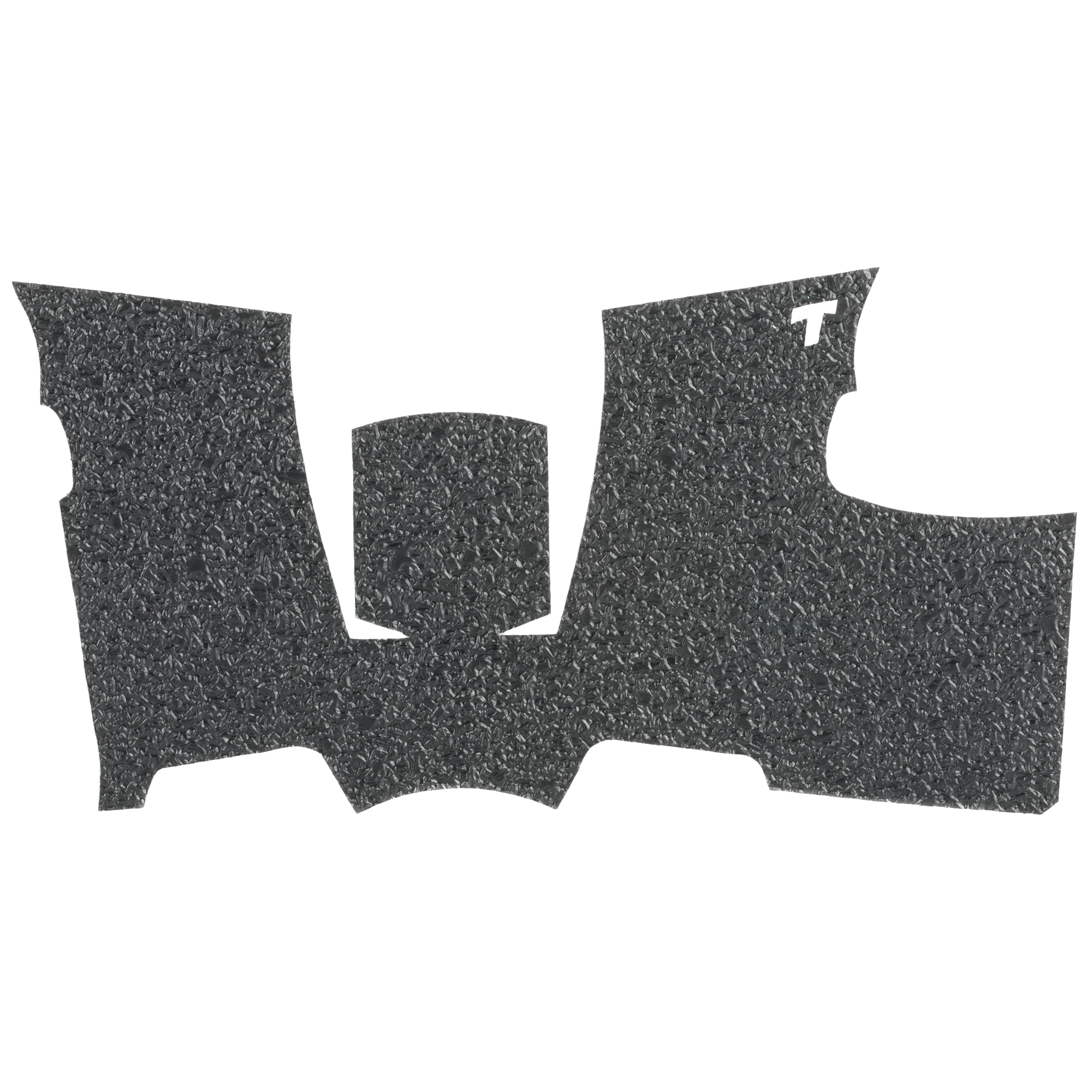 """This rubber rear wrap grip for the Sig Sauer P365 offers full side panel coverage including the thumb rest area"""" full coverage under the trigger guard"""" and full coverage on the backstrap."""