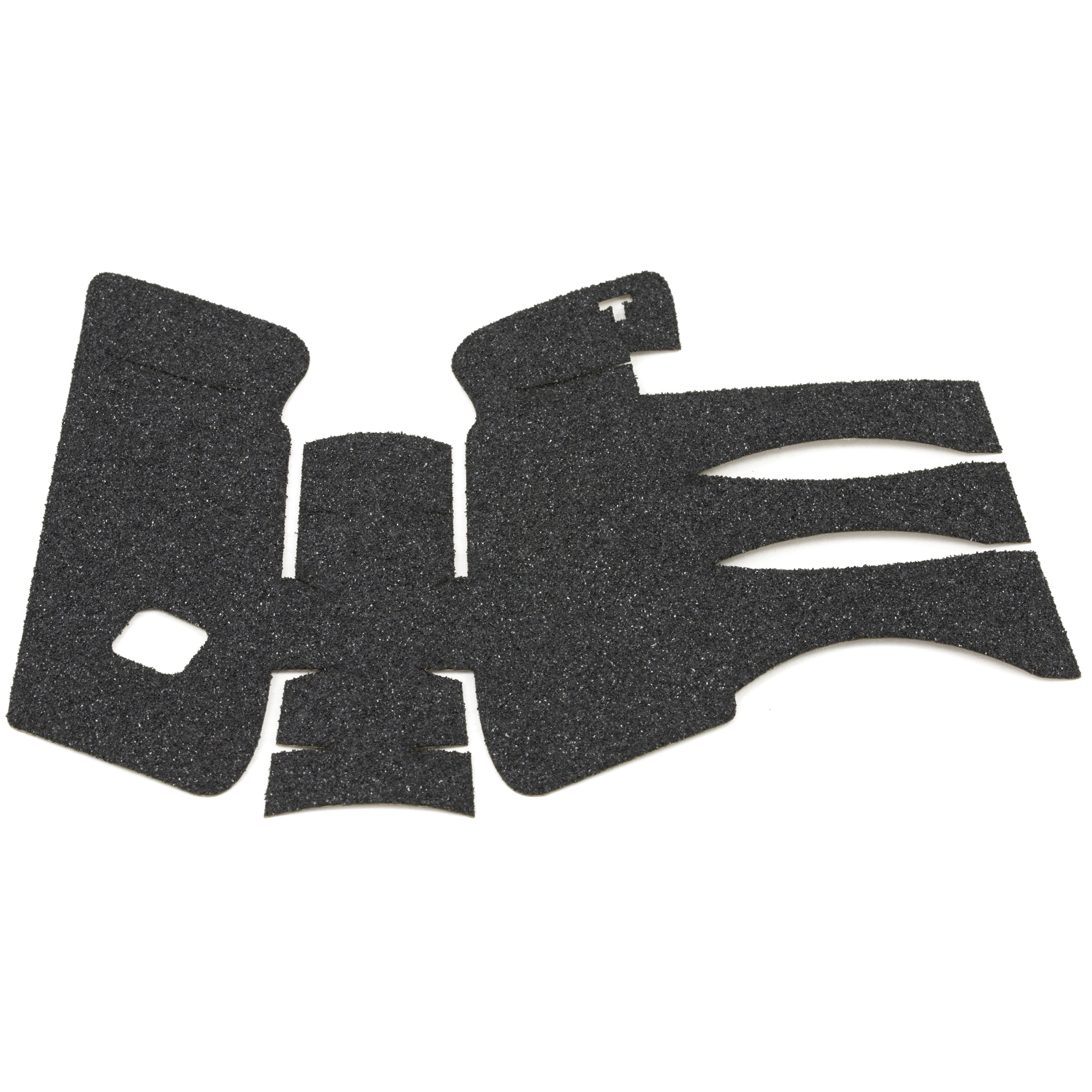 """TALON Grips for Gen 3 Glock 20SF"""" 21SF. This rear wrap grip is in the granulate texture. This grip provides full coverage on the side panels including above the thumb rest"""" ample coverage on the backstrap"""" and three finger wraps for the finger groves under the trigger guard. This grip has a logo cutout for the Glock emblem on the left side of the handle. This grip sticks extremely well even with the Rough Textured Frame (RTF)."""