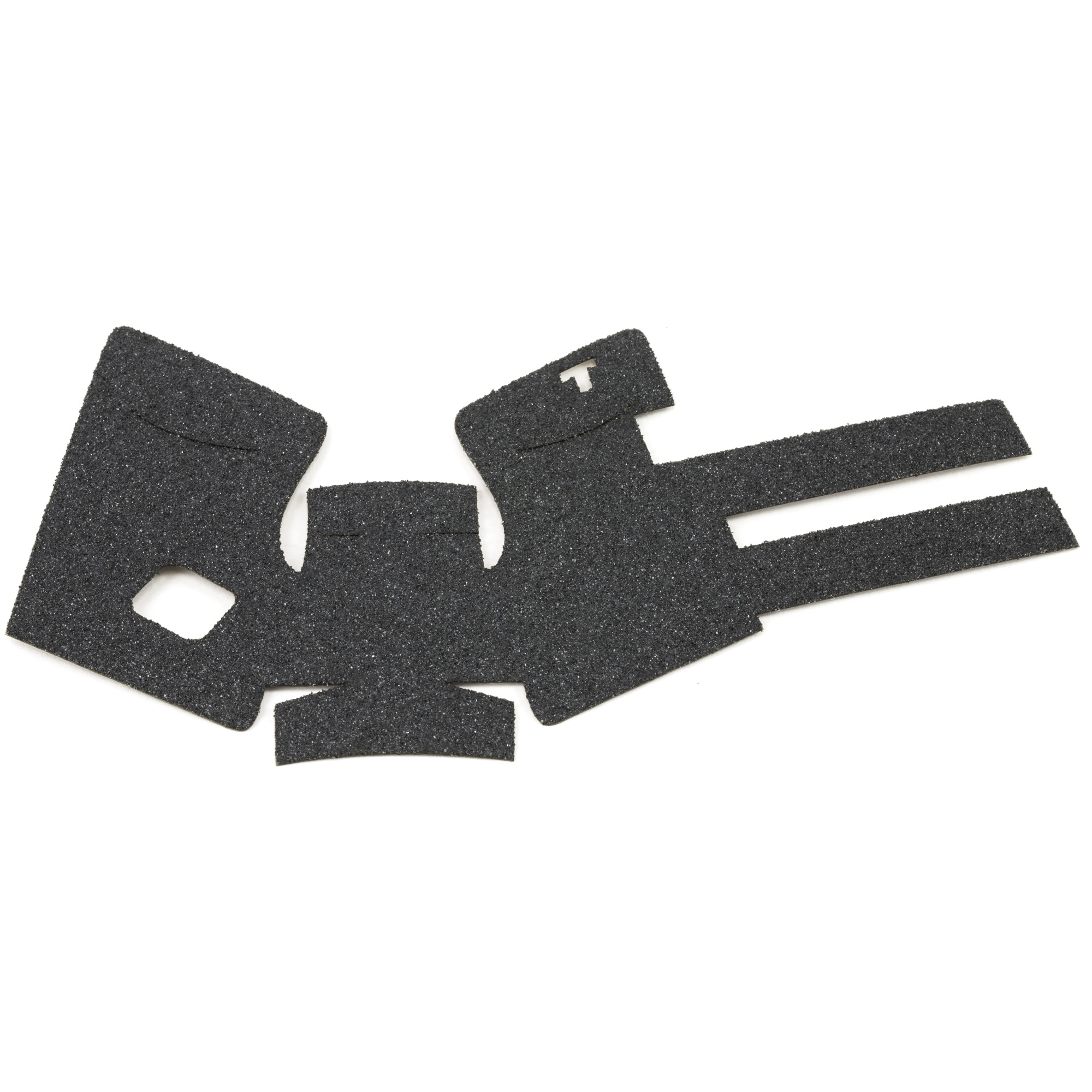 """TALON Grips for Glock Model 26"""" 27"""" 28"""" 33"""" and 39 models Gen 2.5"""" 3. This rear wrap grip is in the granulate texture. This grip provides full coverage on the side panels including above the thumb rest"""" ample coverage on the backstrap"""" and two finger wraps for the finger grooves under the trigger guard. This grip has a logo cutout for the Glock emblem on the left side of the handle. This grip sticks extremely well even with the Rough Textured Frame (RTF)."""
