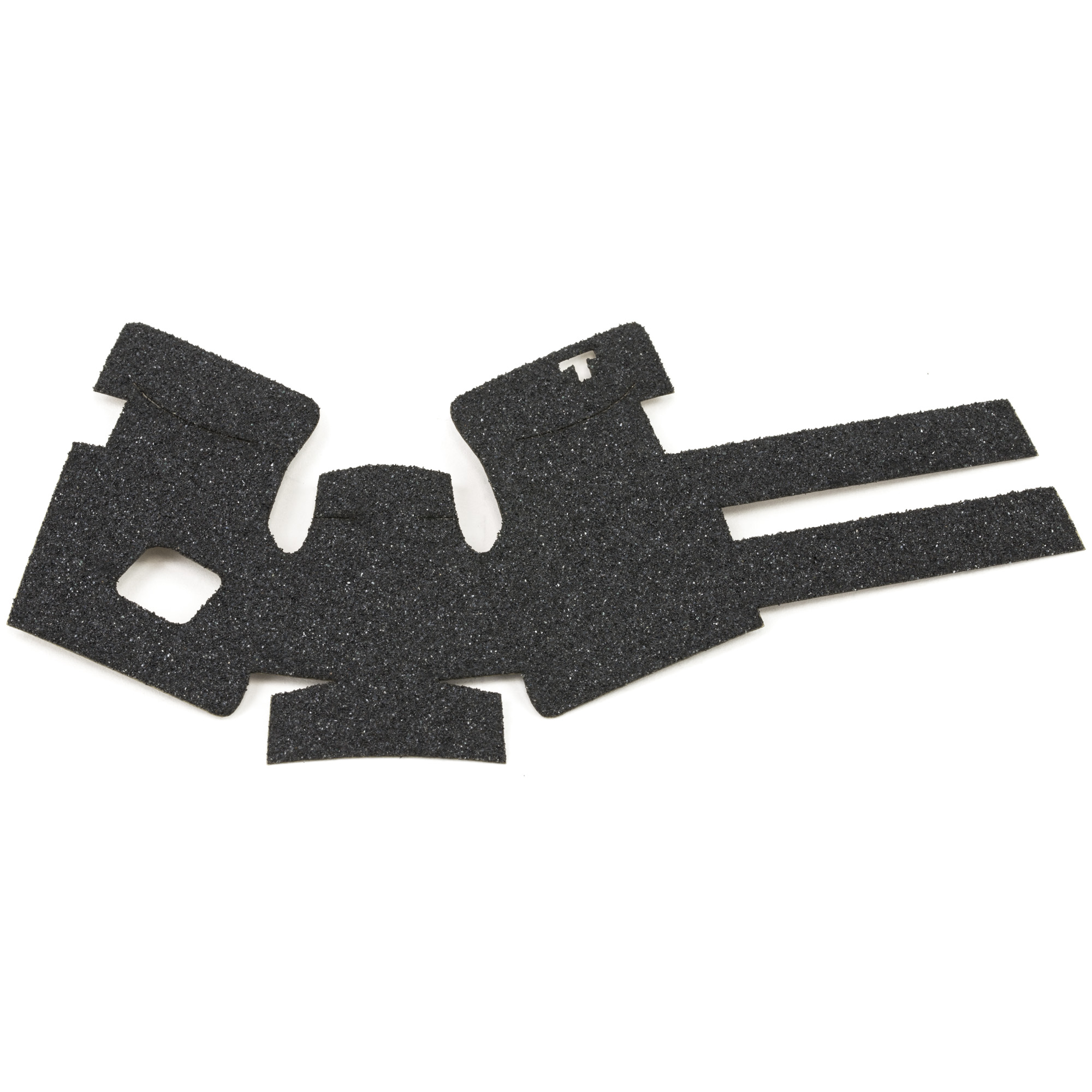 """TALON Grips for Glock Gen 4 Models 26"""" 27"""" 28"""" 33"""" and 39 with No Backstrap. This rear wrap grip is in the granulate texture. This grip provides full coverage on the side panels including above the thumb rest"""" ample coverage on the backstrap"""" and two finger wraps for the finger grooves under the trigger guard. This grip has a logo cutout for the Glock emblem on the left side of the handle. This grip sticks extremely well even with the Rough Textured Frame (RTF)."""