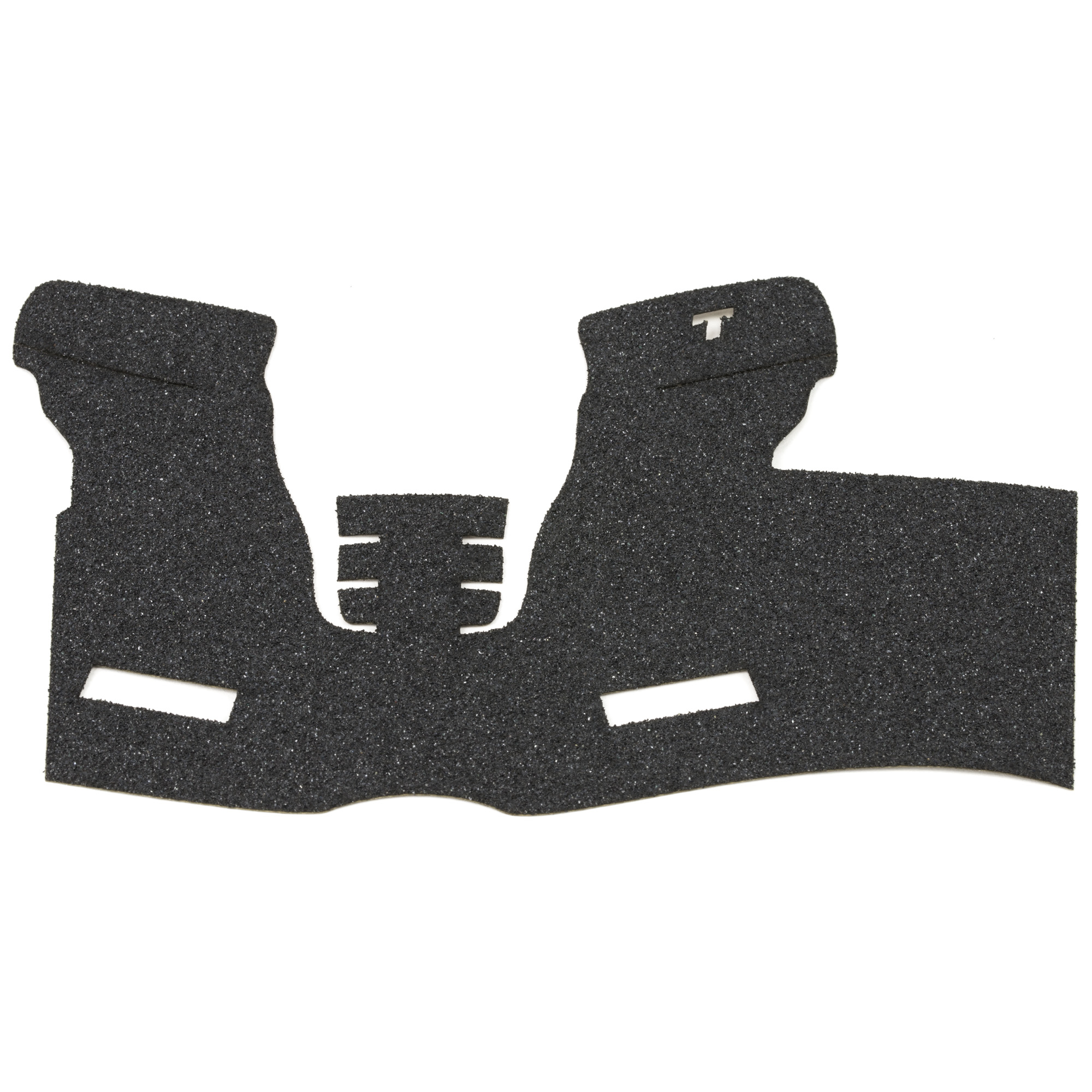 """TALON Grips for Full Size Springfield XD models with the 4"""" and 5"""" barrels for the 9mm"""" .357"""" .40. This rear wrap grip is in the granulate texture. This grip has full coverage on the side panels through the thumb rest"""" logo cutouts on each side"""" ample coverage on the backstrap and full coverage under the trigger guard."""