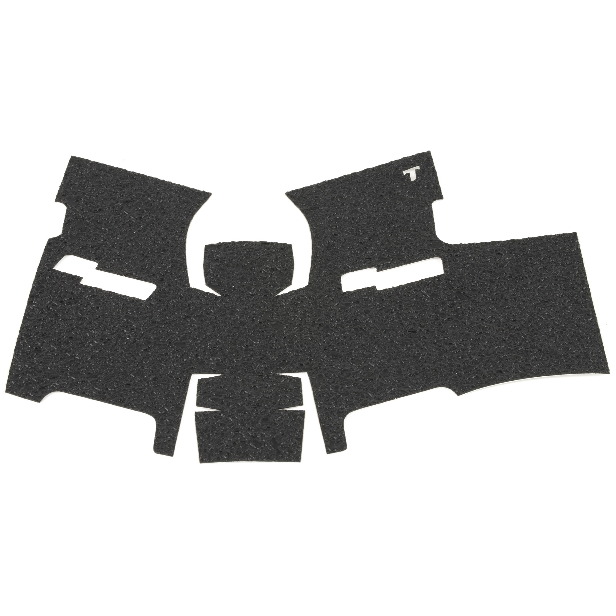 """TALON Grips for Full Size Springfield XD models with the 4"""" and 5"""" barrels for the 9mm"""" .357"""" .40. This rear wrap grip is in the rubber texture. This grip has full coverage on the side panels through the thumb rest"""" logo cutouts on each side"""" ample coverage on the backstrap and full coverage under the trigger guard."""