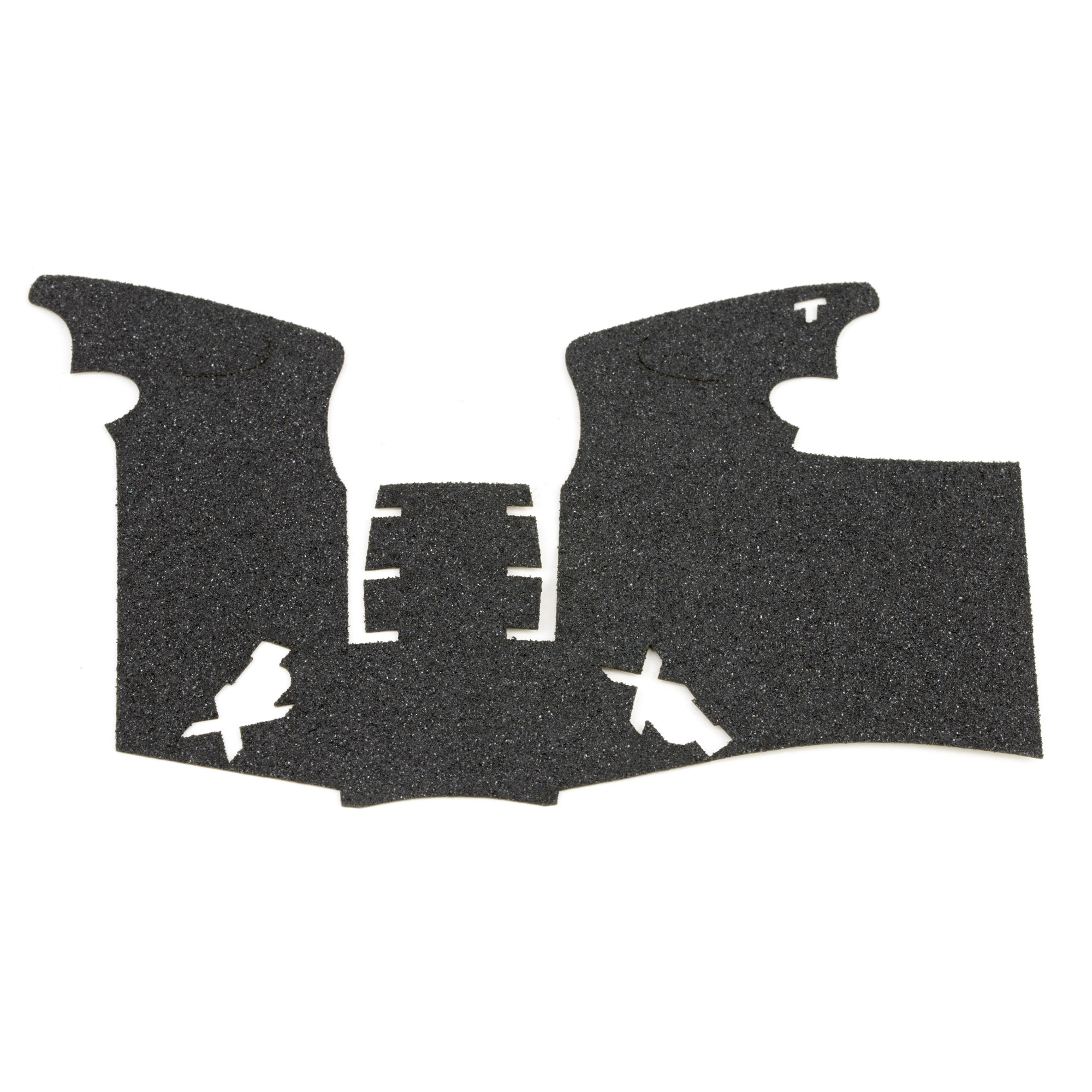 """TALON Grips for Full Size Springfield XD(M) 9mm"""" .40 with a Small Backstrap. This grip is in the granulate texture and offers full side panel coverage including the thumb rest area"""" full coverage under the trigger guard"""" and full coverage on the backstrap. This has specific graphic cutouts for the XD(M) logo. Confirm backstrap size installed on the firearm prior to purchase."""