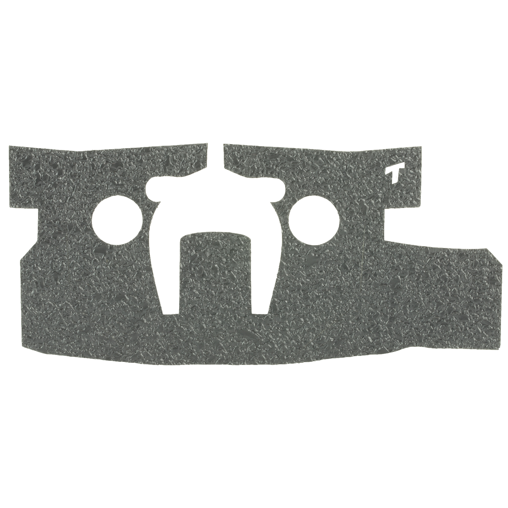 """TALON Grips for Ruger LCP II model. This rear wrap grip is available in the rubber texture and offers full side panel coverage including the thumb rest area"""" full coverage under the trigger guard"""" and high coverage on the backstrap. This grip has graphic cutouts for the Ruger emblem on each side of the firearm."""