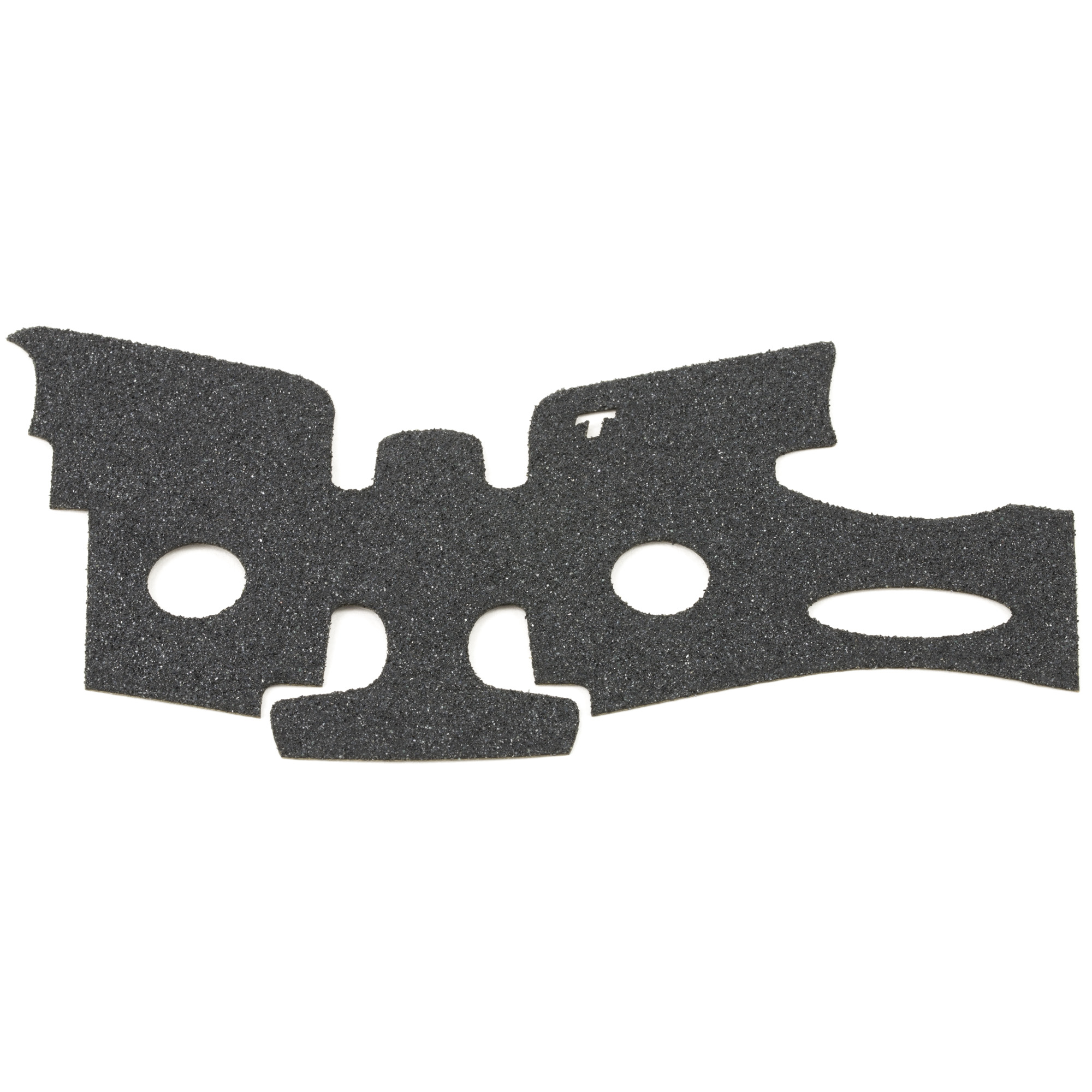 """TALON Grips for Smith & Wesson Bodyguard 380 model. This grip also fits the newer M&P Bodyguard 380. This rear wrap grip is in the granulate texture and offers full side panel coverage including the thumb rest area"""" full coverage under the trigger guard"""" and high coverage on the backstrap. This grip has graphic cutouts for the S&W emblem on each side of the firearm."""