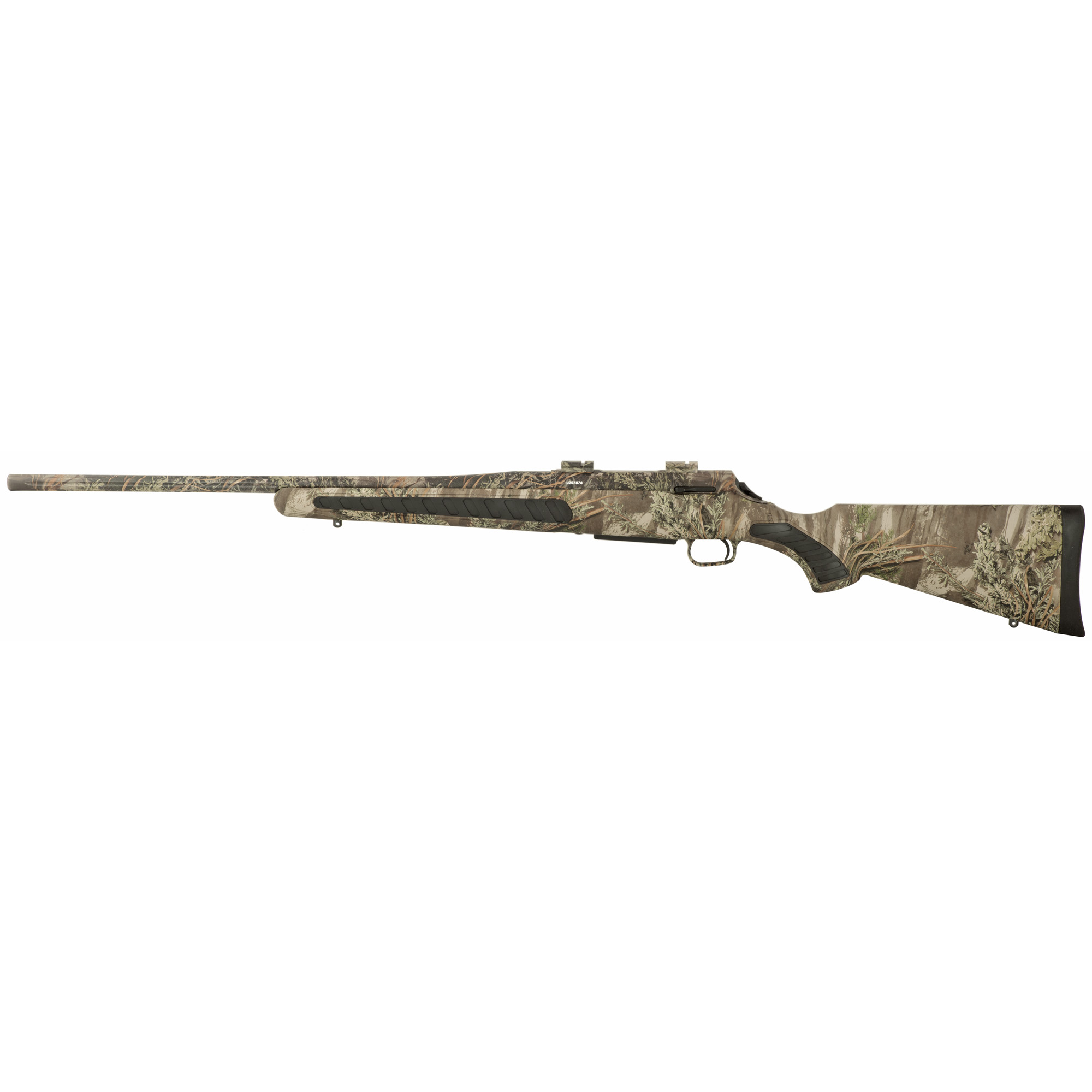 """When nature's toughest predators become your prey"""" you can trust the lightweight T/C Venture Predator to give you the concealment"""" ruggedness"""" and accuracy you need to make the perfect shot. The T/C Venture Predator rifle is available in Realtree(R) Advantage HD Max-1(R) and Realtree(R) AP HD(R)Snow camo and features T/C's MOA accuracy guarantee."""
