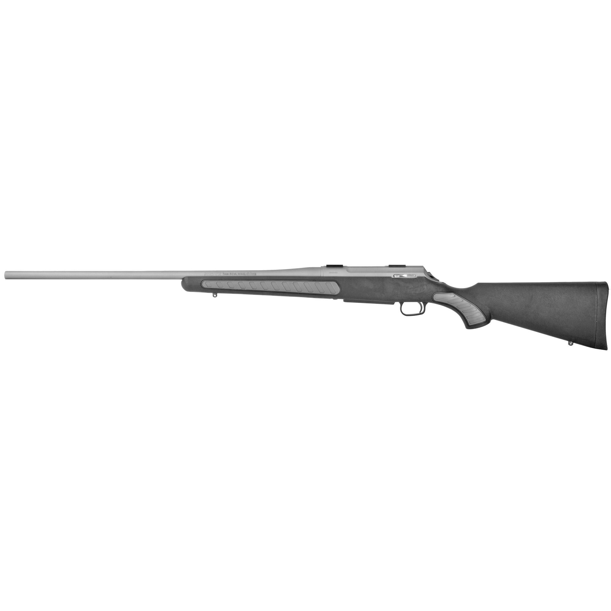 """The innovative Weather Shield exterior coating is nearly impervious to rust"""" protecting your investment wherever the hunt takes you. When you need a gun that makes the shot rain or shine"""" choose the T/C Venture Weather Shield."""
