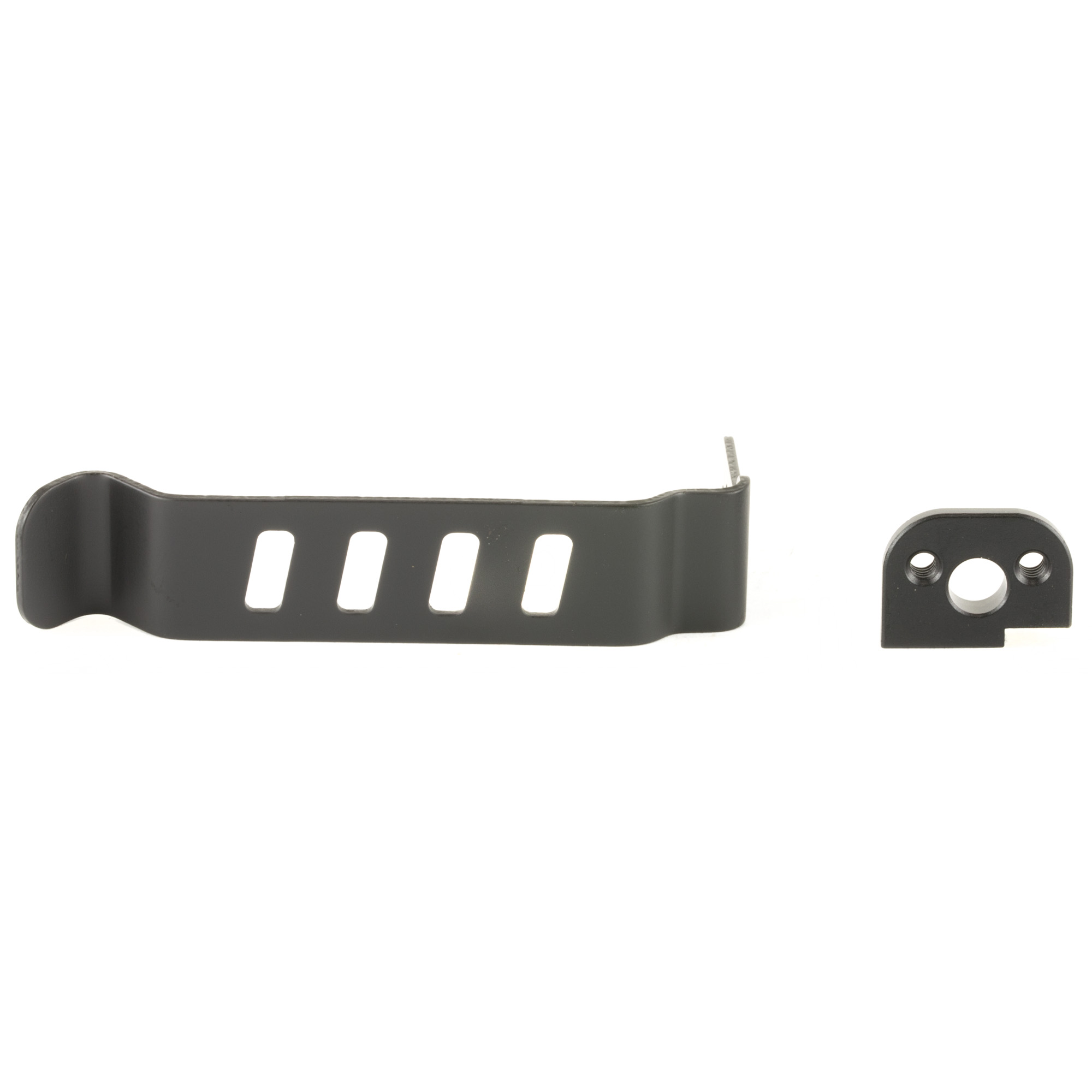 Techna Clips gives you another option for concealed carry. The Techna Clip is a heat treated spring steel waistband/belt clip that installs easily on your pistol and permits carry without the added bulk of a holster. It is light weight and allows for a fast draw. No gunsmithing is required to install. Each Techna Clip comes with a small metal post and screw that replaces an existing pin on the gun.