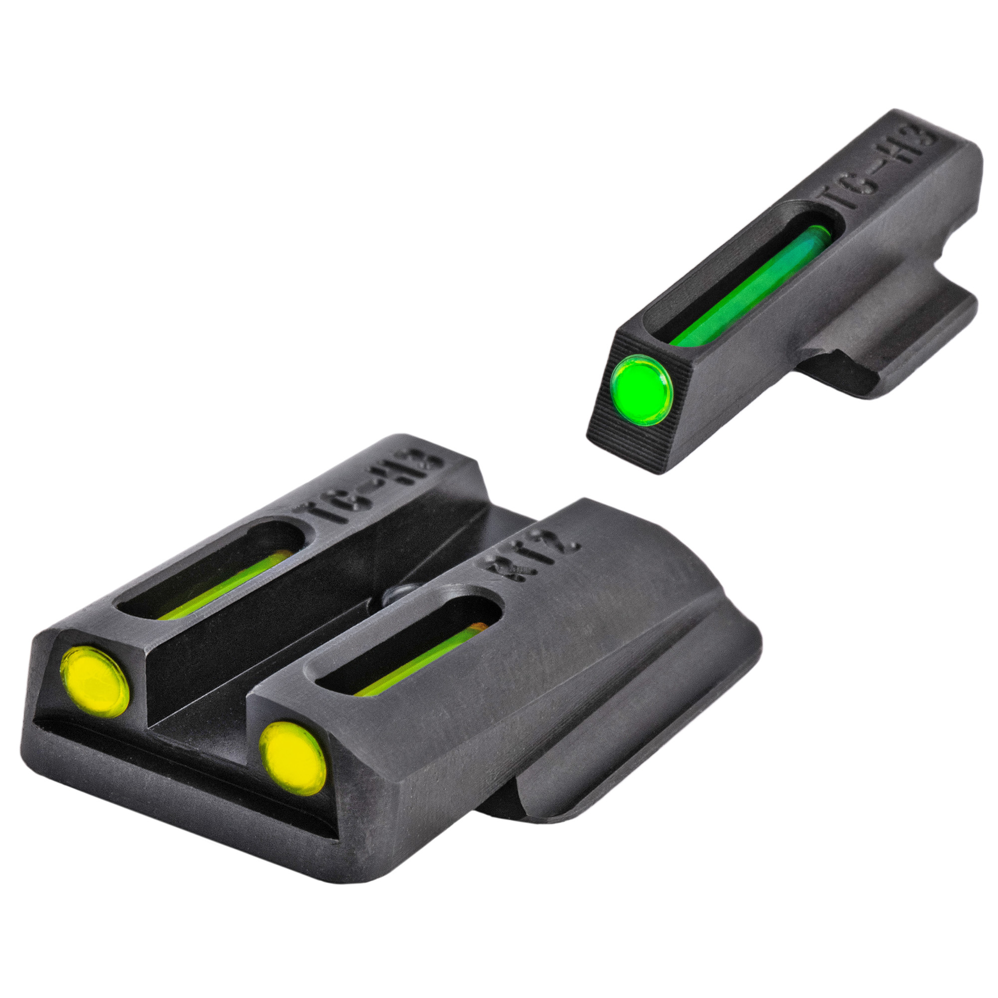 """When you need to make a fast and accurate shot"""" brightness counts. We brought fiber-optics to the shooting sports industry years ago for this very reason. We have now paired them with our tritium night sights to create a consistently bright sight picture-day or night! Our patented combination of Tritium and Fiber-optic technologies unites the best of both worlds. Whether you are in glaring daylight or complete darkness"""" you can count on TFO(R) to provide a bright and reliable sight picture."""