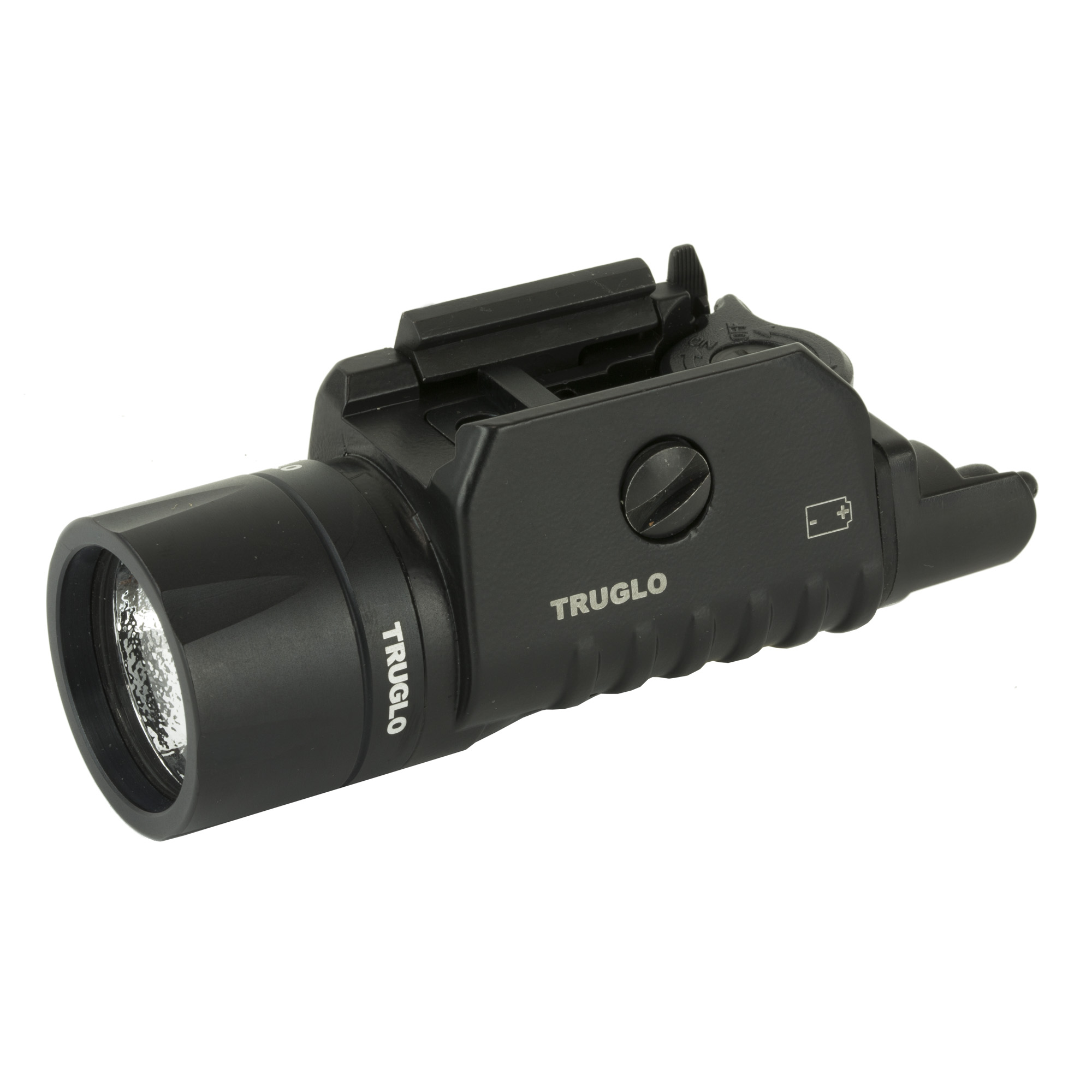 The Truglo Tru Point Laser/light combo features a laser located in the flashlight housing for a compact design with interchangeable back plates for right or left hand use.