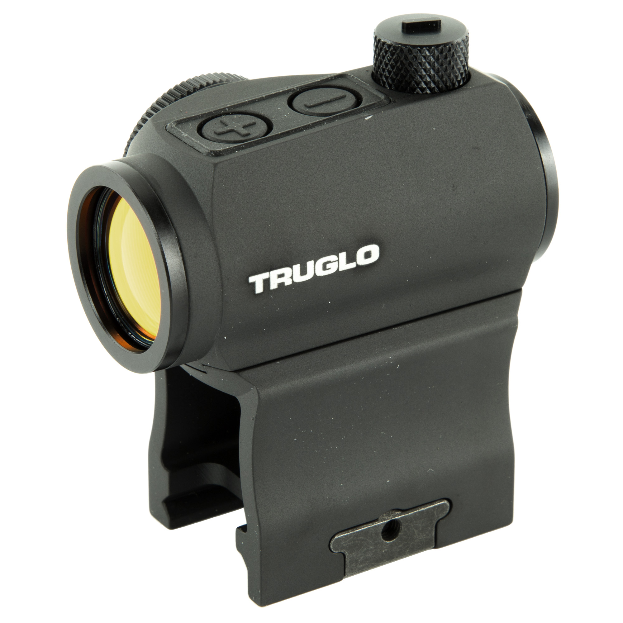 """With included high and low mounting bases"""" and the now available quick-detach mounting bases"""" TRUTEC(TM) 20mm is the go-to dot optic for nearly any weapon system. Compact and lightweight"""" TRUTEC 20mm is ready for anything with a motion-sensitive auto-on and a programmable auto-off for years of reliable battery life. Coated optics and a precise 2-MOA dot provide a bright"""" crisp image for superior accuracy."""