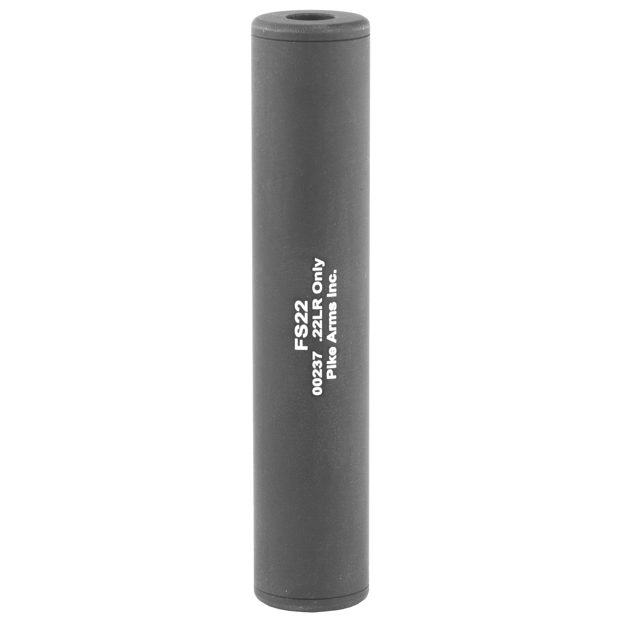 "Want the suppressor look without all the paperwork hassle and transfer tax expenses? Tactical Innovations' .22 LR Fake Suppressor is as close to a real suppressor as you can get without paying the tax stamp. Its CNC precision machined from solid aluminum with a durable hard black anodized finish and its professionally laser engraved identically to their real NFA registered suppressors. Since its a fake suppressor"" the sound is not reduced and bullet impact is not changed. Many customers do prefer the weight and balance improvement that the suppressor provides. It's perfect for use on a Walther P22 with one of Tactical Innovations' Walther Thread Adapter Assemblies and will work on any .22LR rifle or pistol that has the barrel threaded 1/2x28 TPI."