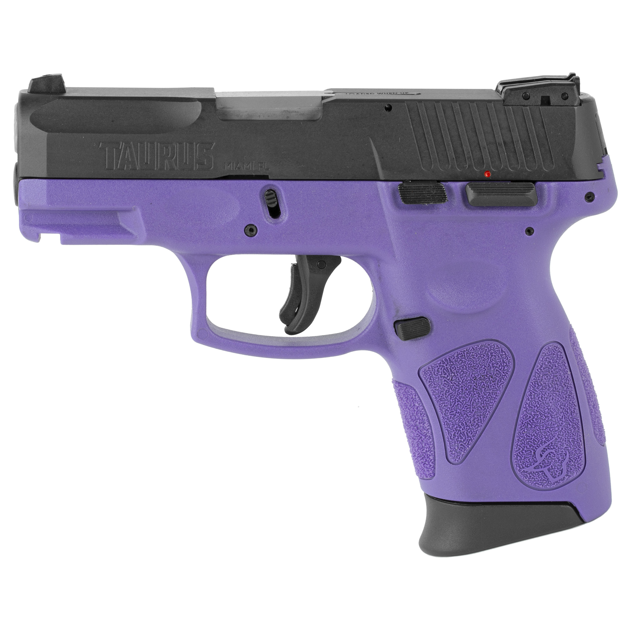 """Taurus G2C2 DAO 3.2"""" 9mm 12Rd - Black/Dark Purple-img-0"""