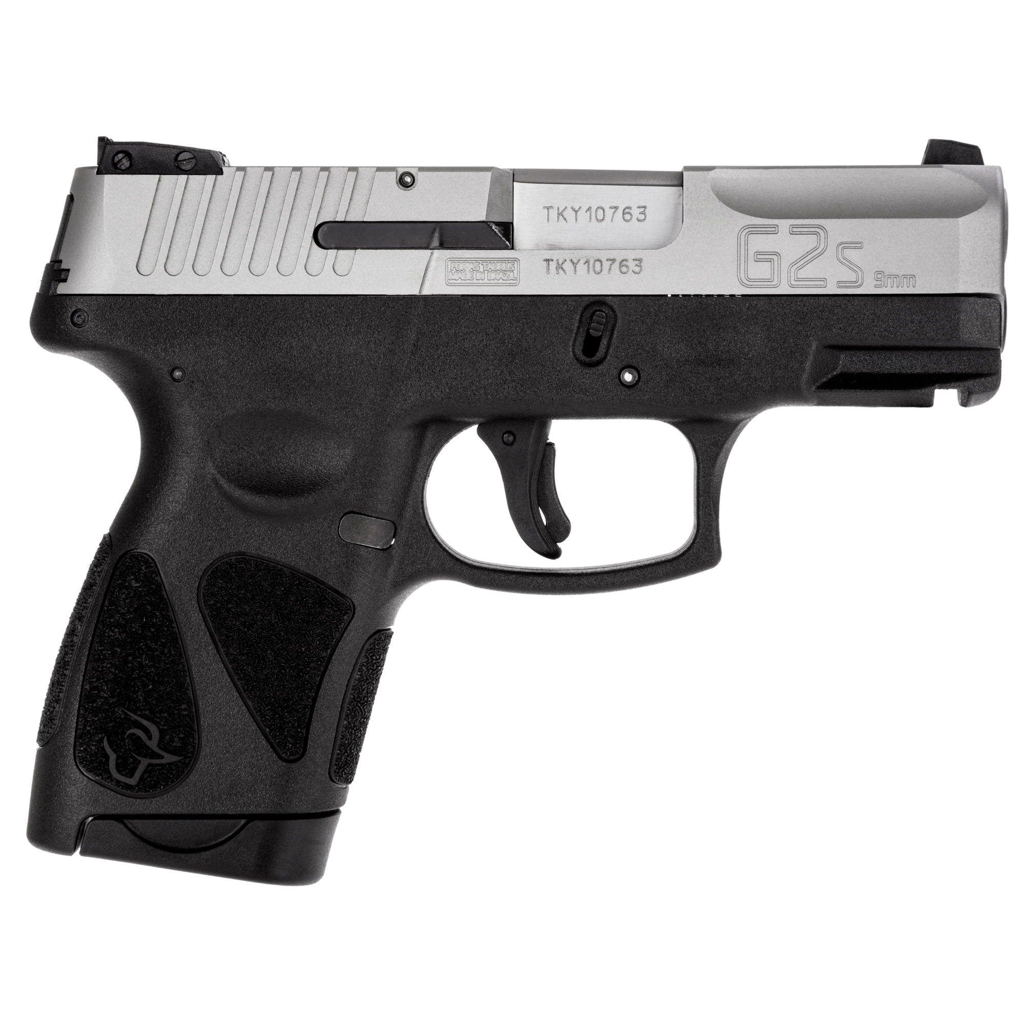 """Sharing much of the design and engineering advances with the equally new Taurus(R) G2C compact pistol"""" the G2S offers a more diminutive package that"""" unlike many subcompacts on the market"""" doesn't compromise comfort"""" effectiveness"""" or efficiency."""