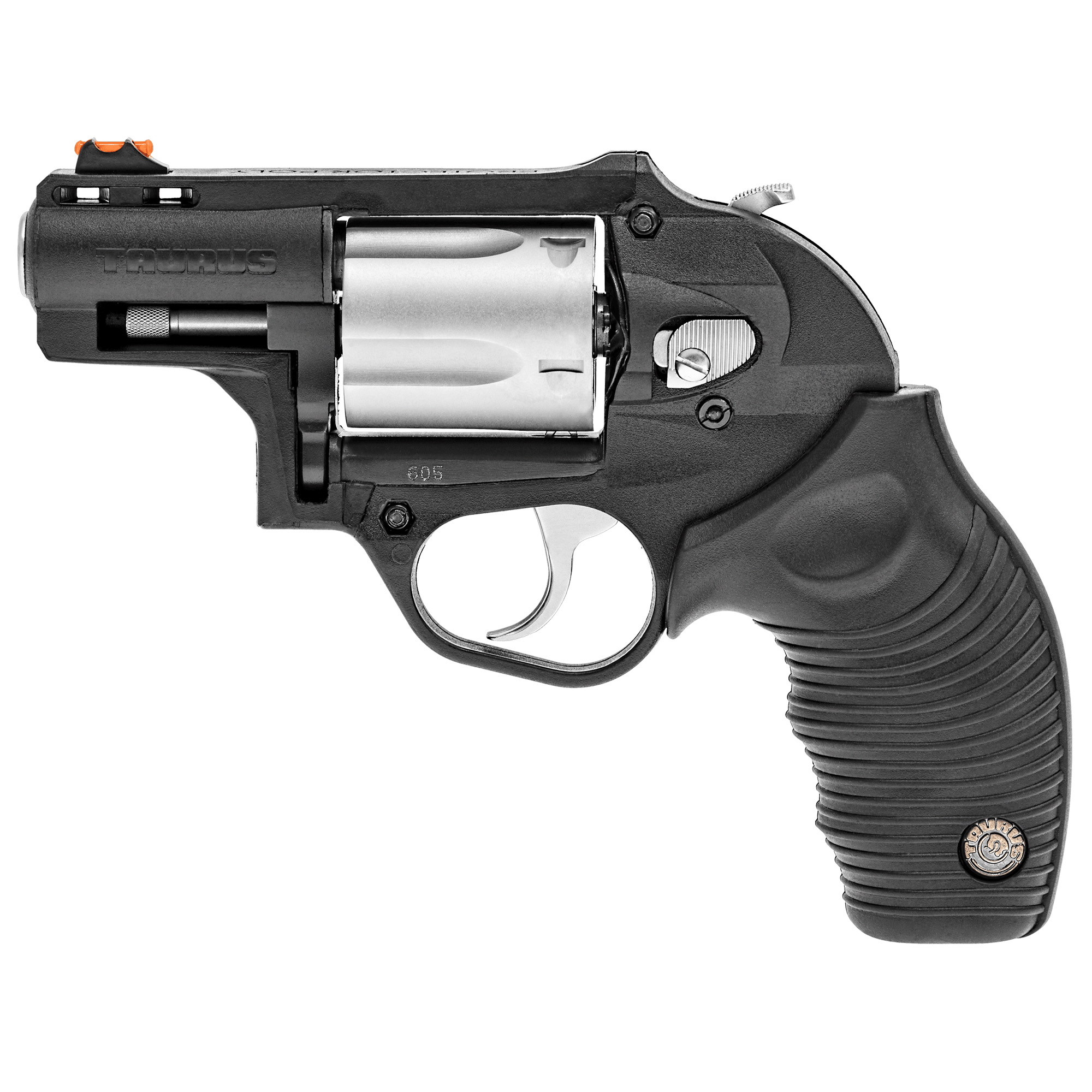 The new DT .357 Magnum Revolver is built to the same high standards you'd expect from Taurus. It comes ready for trouble with a new lightweight polymer body. It is truly the best revolver in its class.