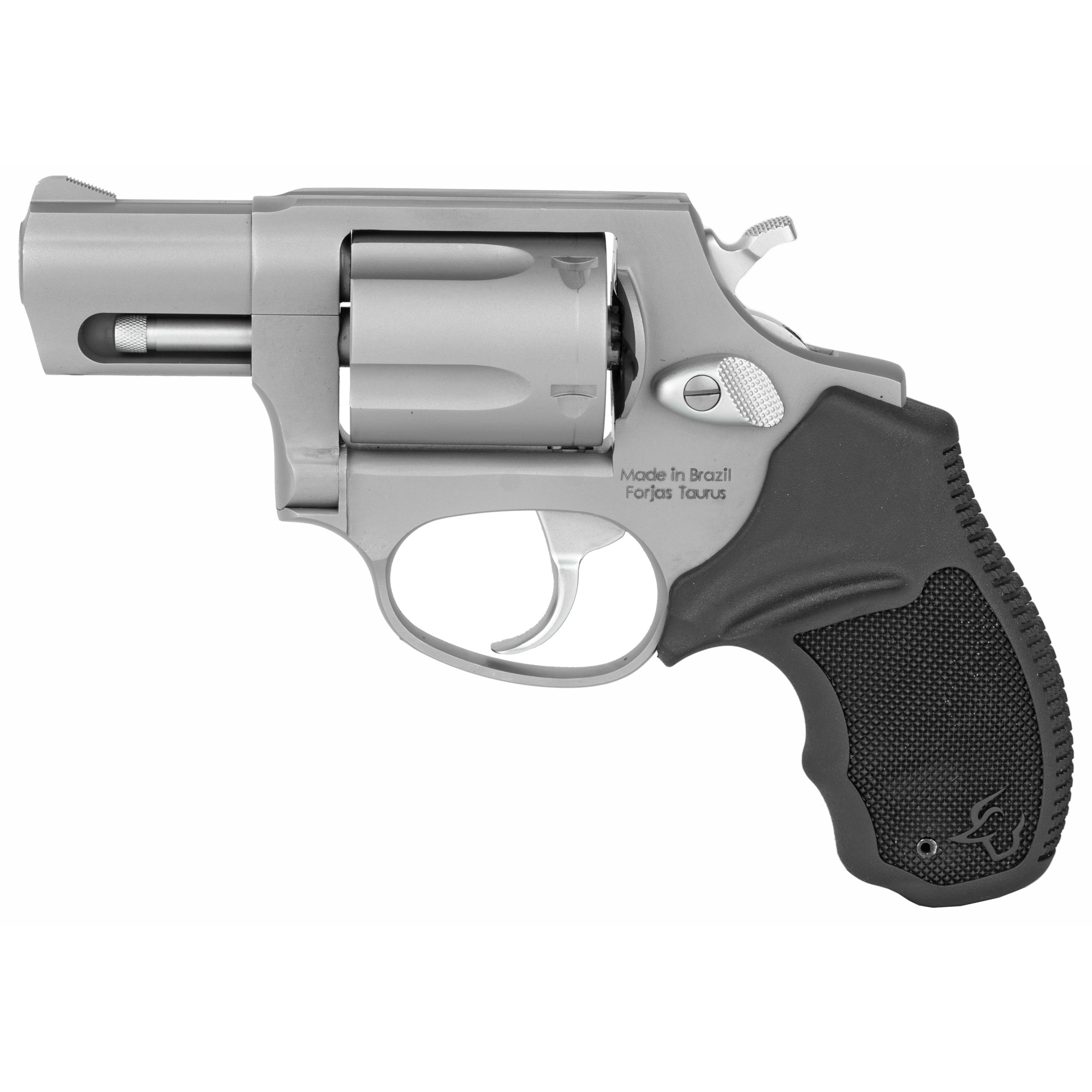 """Using the powerful .357 Magnum round"""" this quick-draw revolver has plenty of muscle to back it up. Features include fixed sights"""" crisp single-double action trigger and a transfer bar for added safety."""