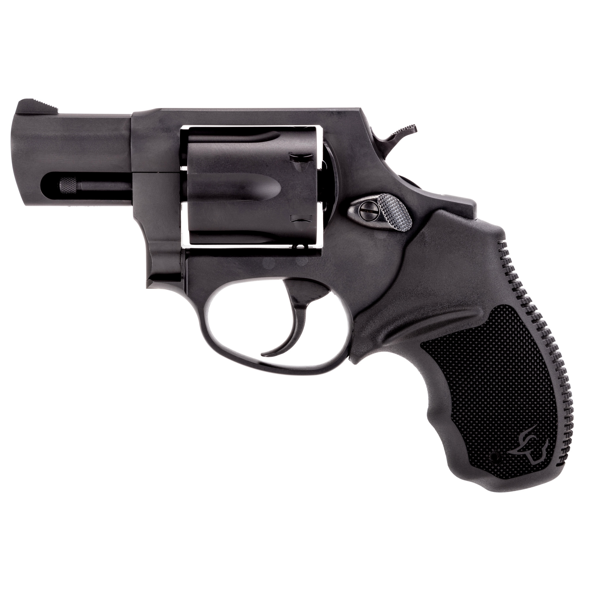 """The Taurus 856 is a reliable 6-shot"""" 38 Special revolver that features soft rubber grips-making it comfortable to shoot at the range while the double/single action increases speed and accuracy for follow-up shots."""