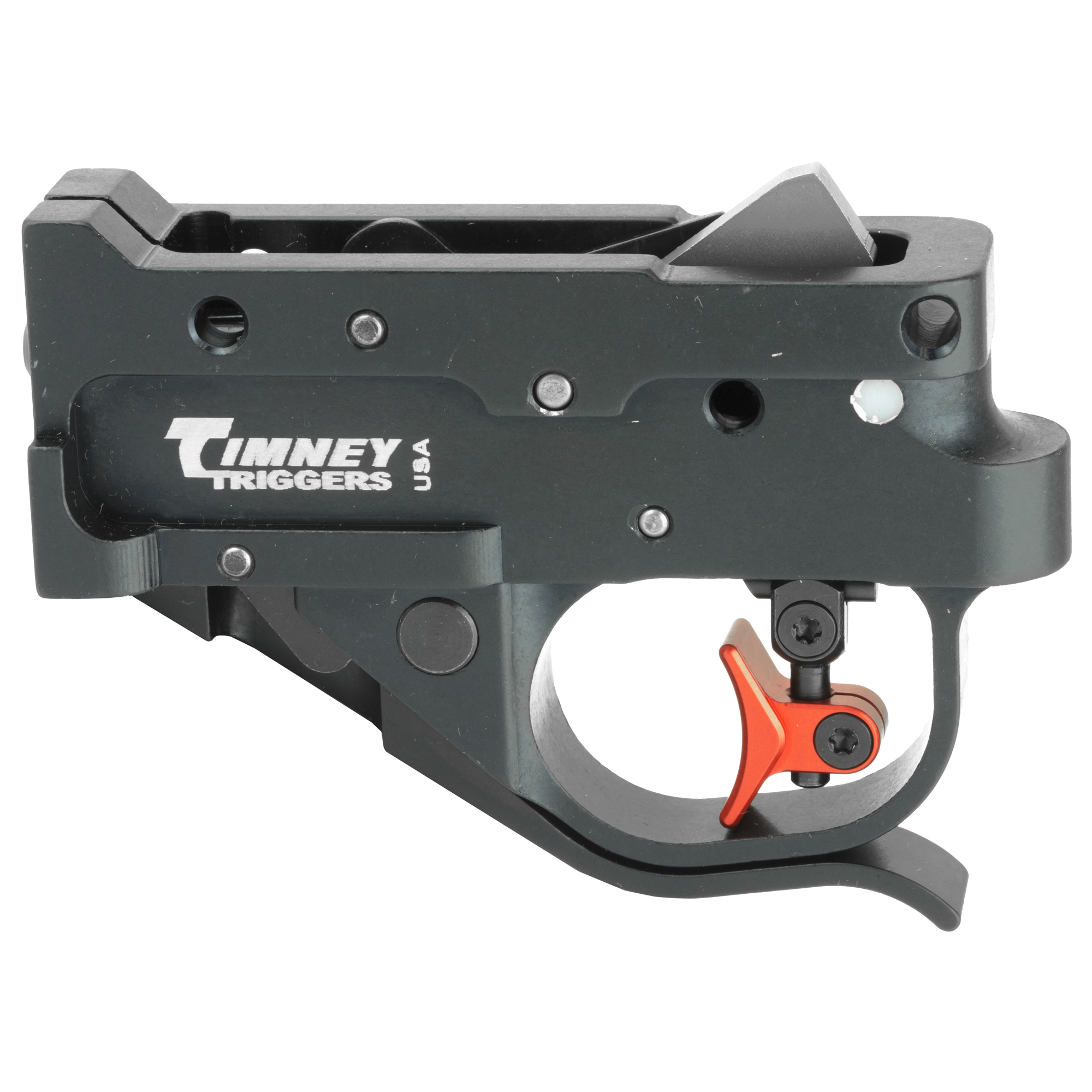 "This Timney set the standard for aftermarket upgrades for the 10/22 rifle. The trigger is set at 1.5 - 2 pounds from the factory"" with no creep. The shoes are adjustable for length of pull"" cast and height for the ultimate in custom comfort and positive contact."