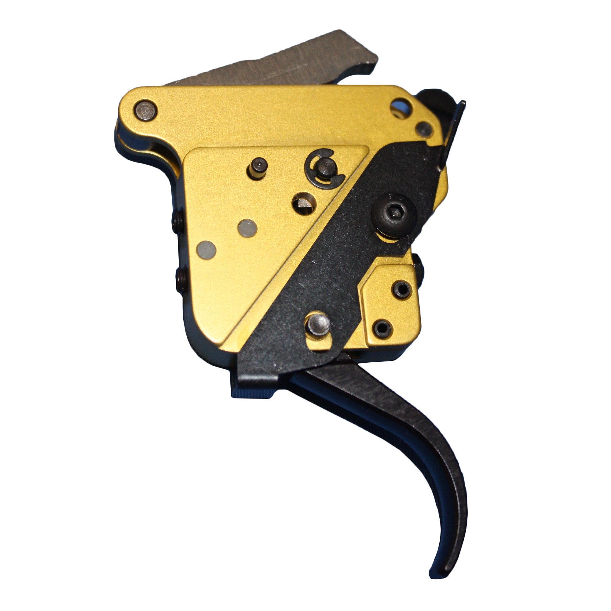 "Timney is the market leader for Remington replacement triggers. Fully adjustable for Sear Engagement (Creep)"" over travel (Follow through) and Pull Weight."
