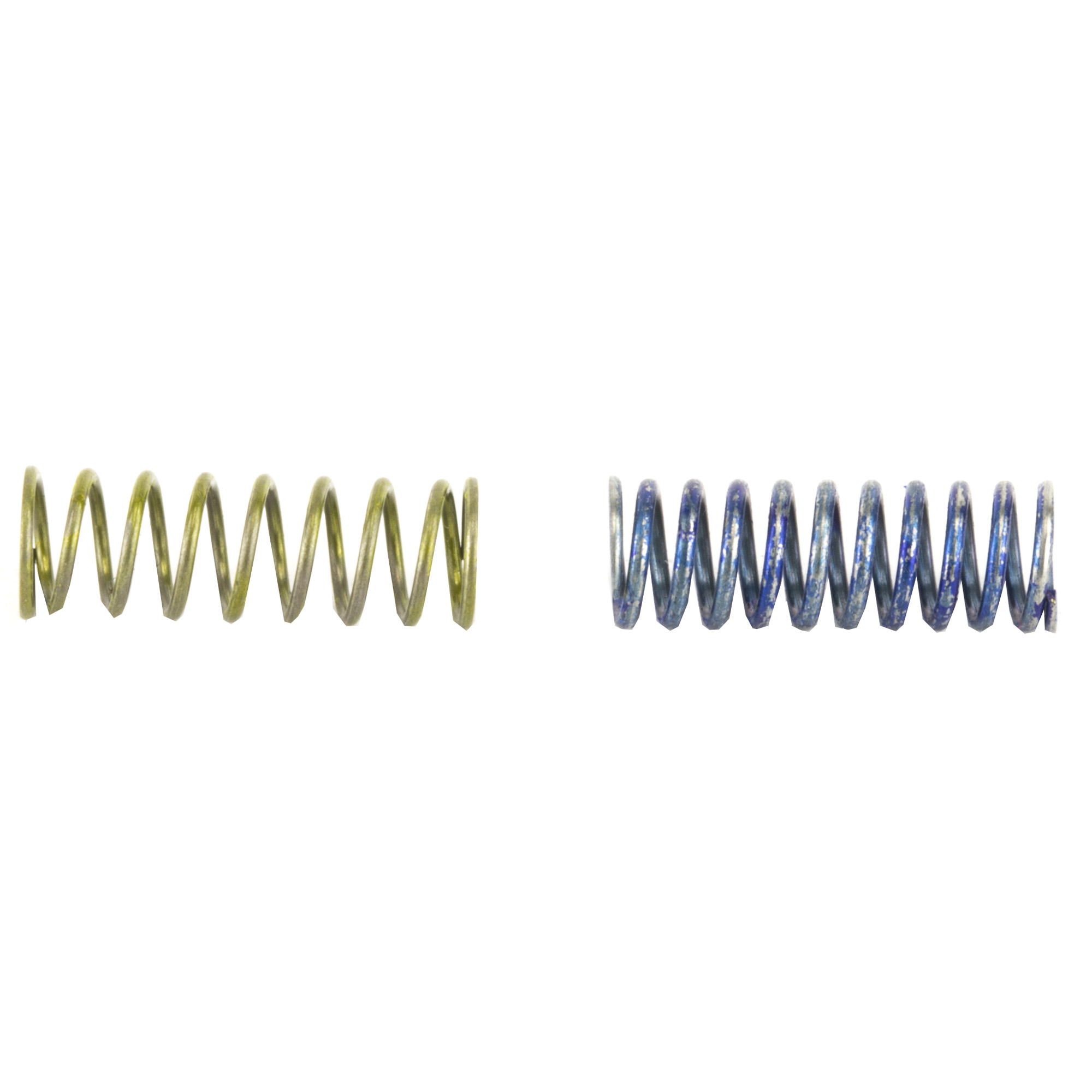 The Timney Browning A-Bolt Spring Kit consists of two springs that will reduce your trigger's weight of pull. Easy to install. Includes 1.5-2 lb. and 2-3 lb. springs.