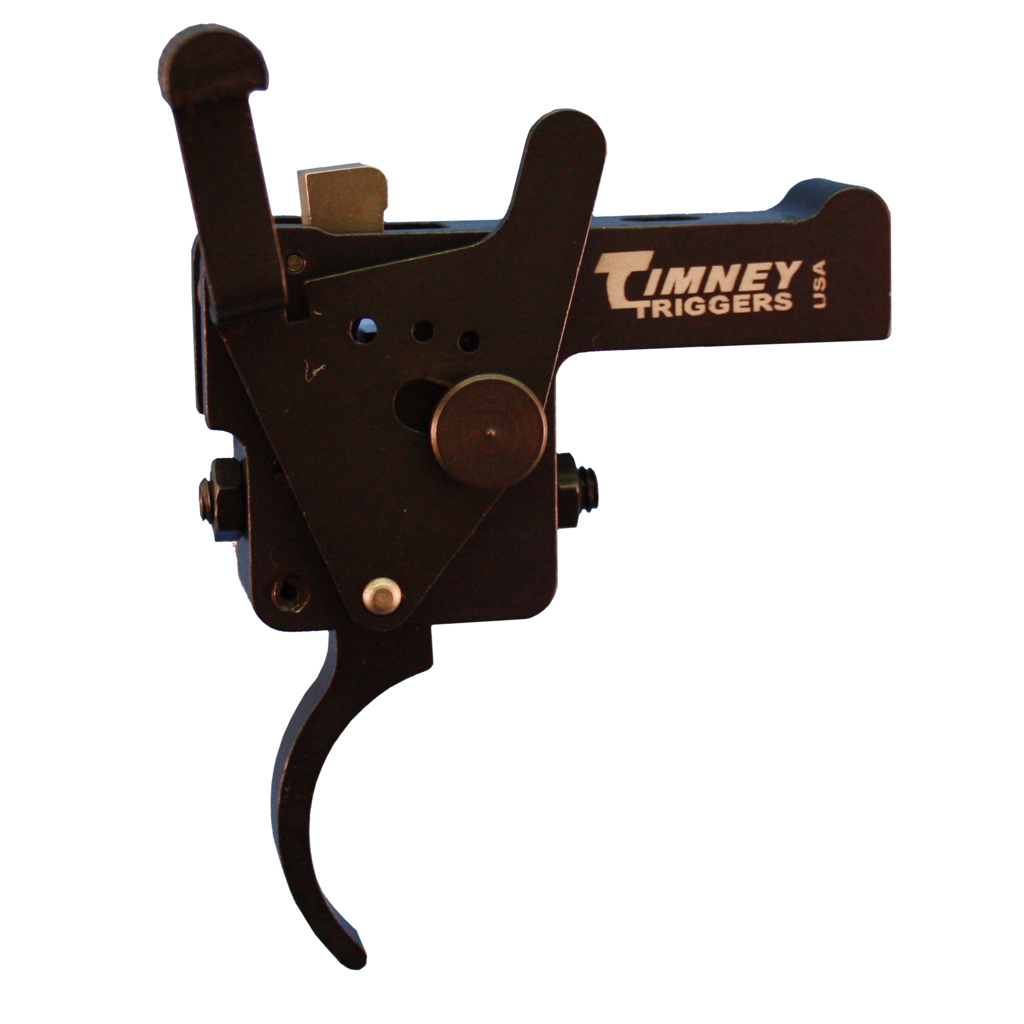"Timney is the market leader for Weatherby replacement triggers. Fully adjustable for Sear Engagement (Creep)"" over travel (Follow through) and Pull Weight."