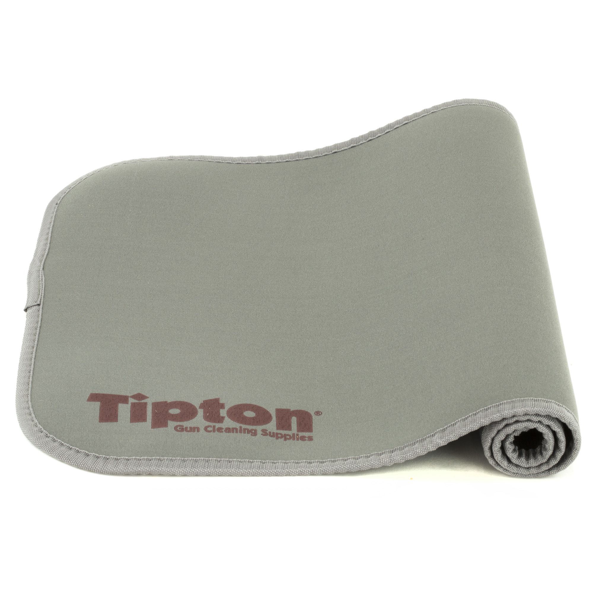 """The perfect material to lay on your workbench while cleaning or disassembling firearms. Padded neoprene construction protects firearm finishes while helping keep track of small parts. Excess oils and solvents are absorbed into the mat"""" keeping the surface clean and dry. The Tipton(R) Maintenance Mat rolls easily to fit in your range box. Hand washable"""