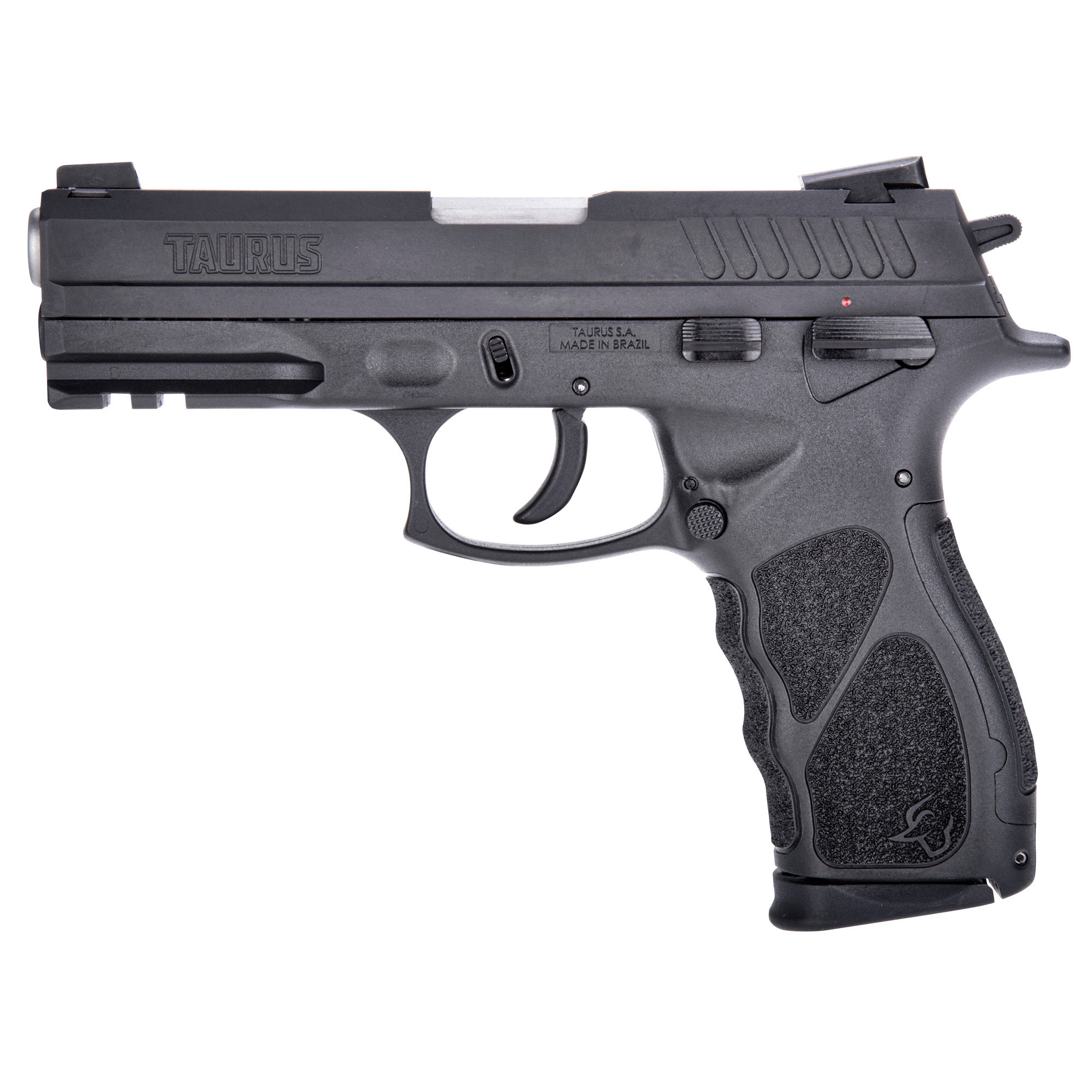 Presenting the all-new Taurus TH series external hammer-fired pistol. the TH40 is a modern reinvention of the classic hammer-fired SA/DA semi-auto platform. Available in both full frame and compact models.