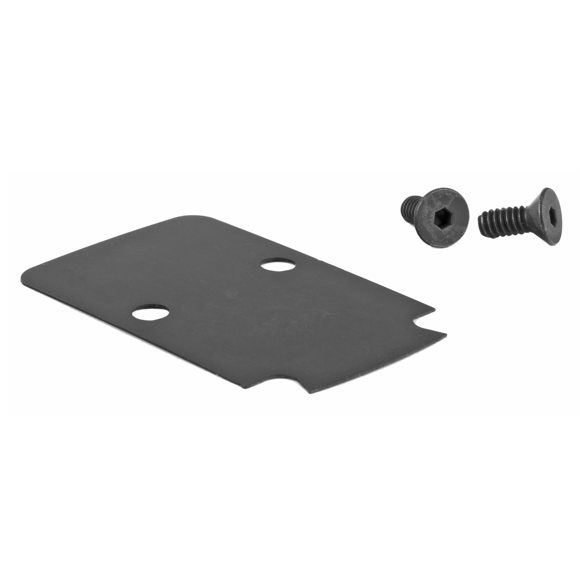 "This kit includes the sealing plate and proper screws needed to mount an RMR(R)/SRO(TM) on the Glock(R) MOS slide and the Springfield(R) OSP pistol. For the SRO(TM)"" only the screws in this kit are required for proper mounting. One must have this kit to mount an RMR(R)/SRO(TM) on a MOS slide. Both optics ship with two long screws which will NOT work. You will need the two short screws in this kit."