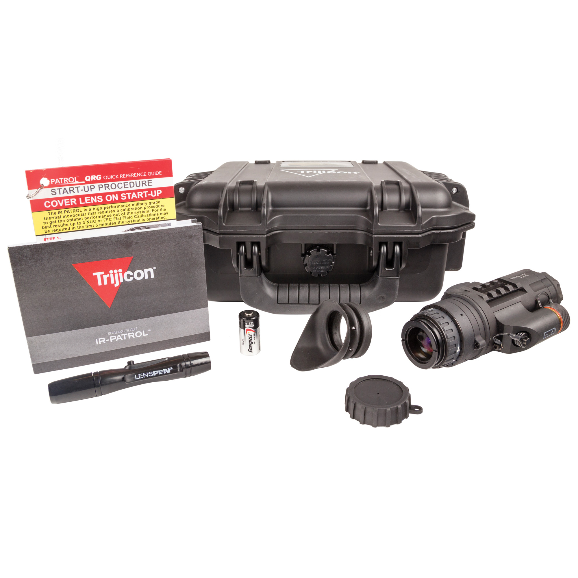 "Whether your mission is searching for a suspect or securing your position"" the Trijicon IR-PATROL(R) is the ideal multipurpose thermal imaging monocular. It's compact"" lightweight"" rugged and offers some of the most advanced performance options on the market"