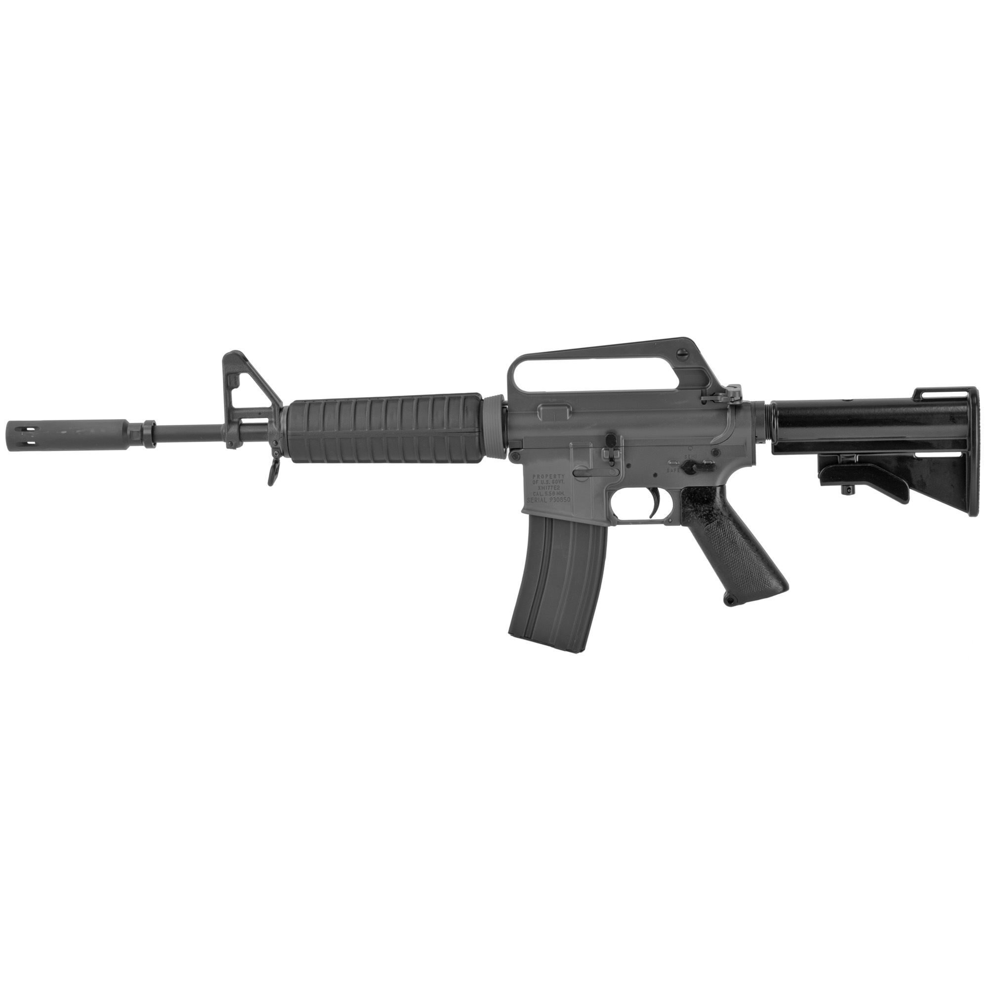 """In recognition of the 50th Anniversary of the legendary XM177E2 Commando"""" TROY has taken responsibility to meticulously recreate it"""" to exacting 1967 U.S. military specifications"""" ensuring the historical accuracy and functional reliability of this venerable carbine. The XM177E2 is a U.S. Special Operations icon specifically built for the covert combat needs of MACV-SOG in Vietnam. The TROY XM177E2 Commando is of heirloom quality and aesthetically precise. Immortalizing duty"""" sacrifice and honor"""" proceeds from each XM177E2 will support the charitable efforts of The Special Forces Association and the Special Operations Association as they"""" """"Commemorate fittingly the memory of those who have given their lives in defense of the Free World."""""""