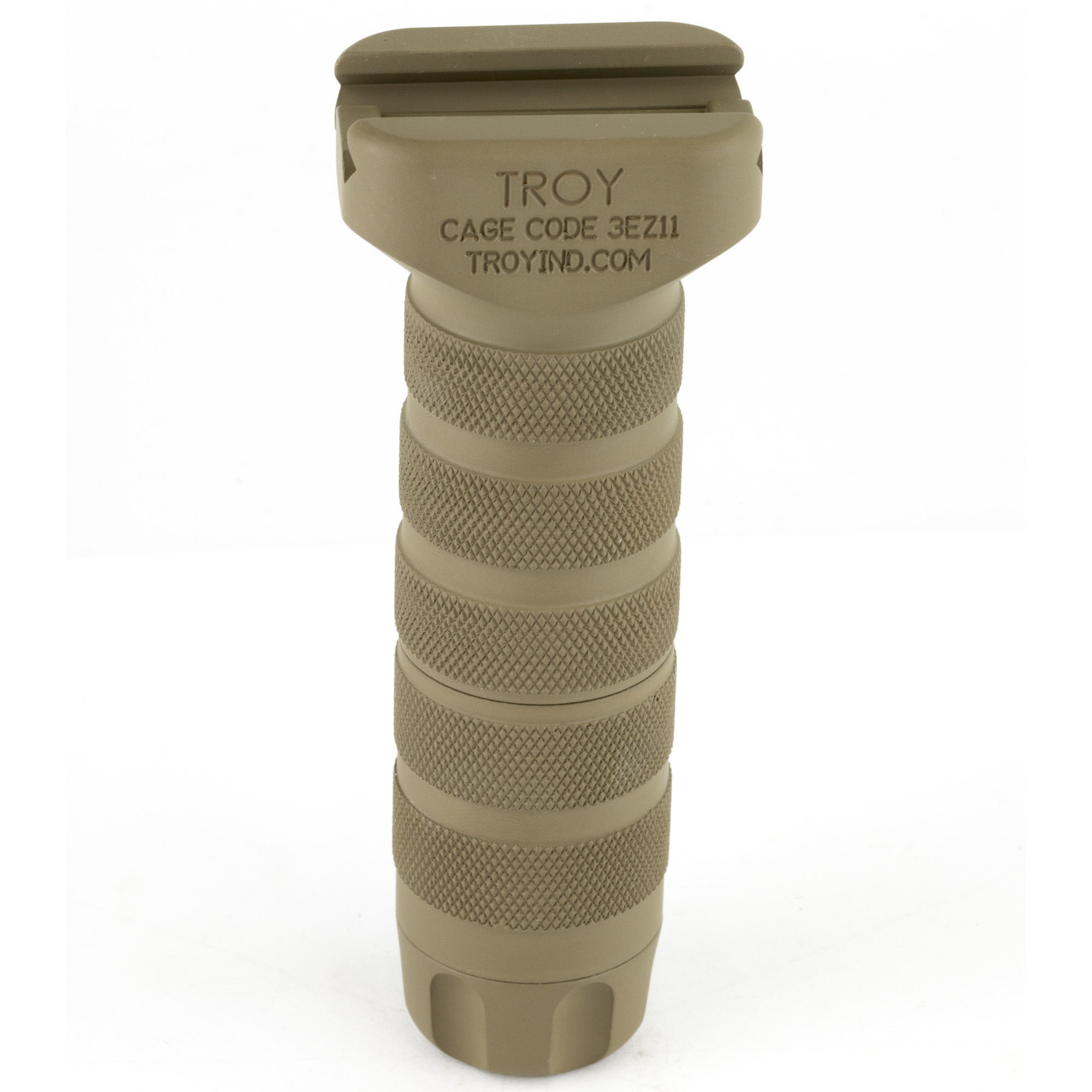 """Don't lose your grip when things get dirty. The Troy Modular Combat Grips offer versatility"""" unmatched durability and outstanding ergonomics in a grip that complements all Picatinny rail systems."""