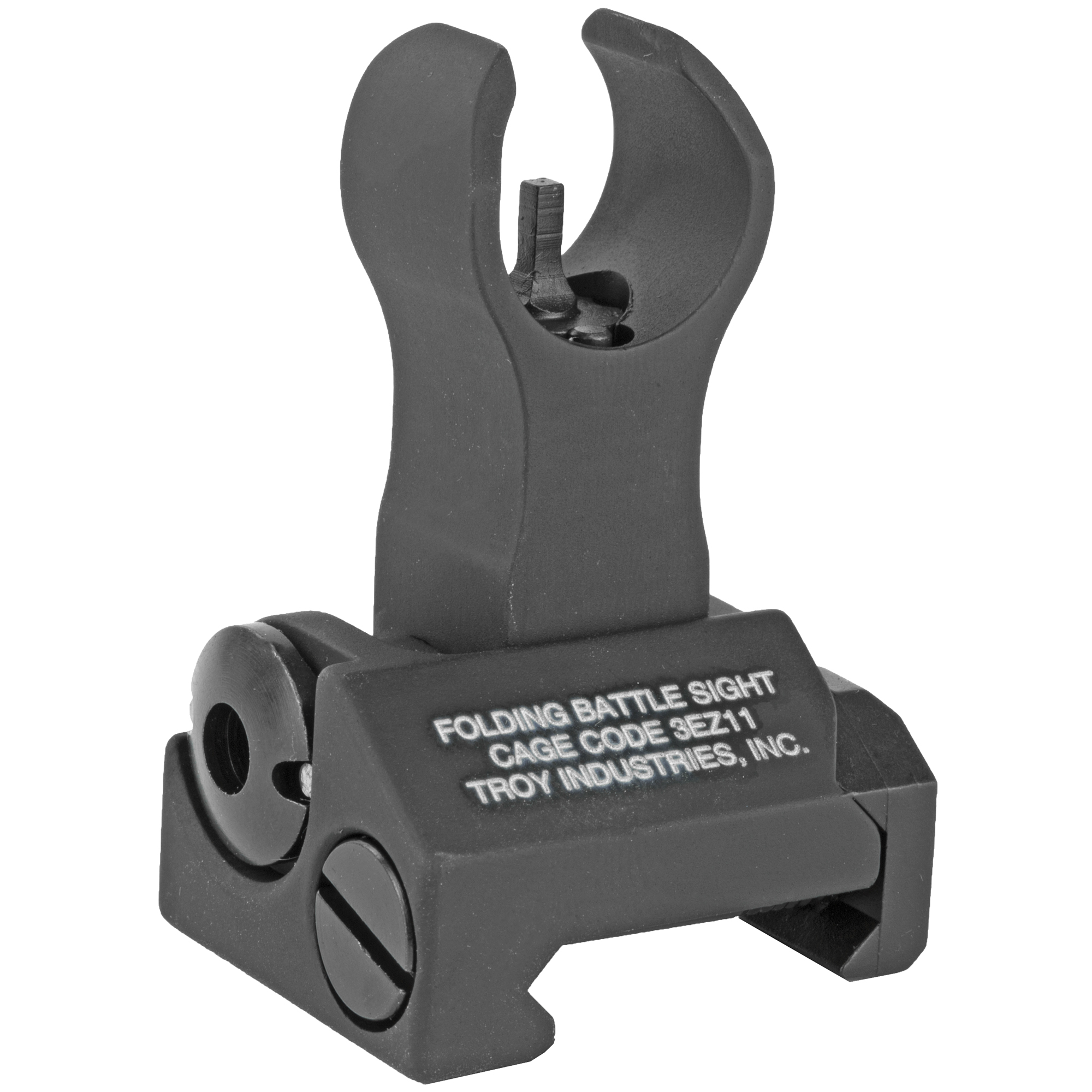 """Durability and dead-on accuracy make Troy BattleSights(TM) the hands-down first choice of Special Ops and Tactical Users Worldwide. Troy's HK Front Folding BattleSight is easy to install and deploy"""" with no levers or springs to fumble with. No tools required for adjustment."""