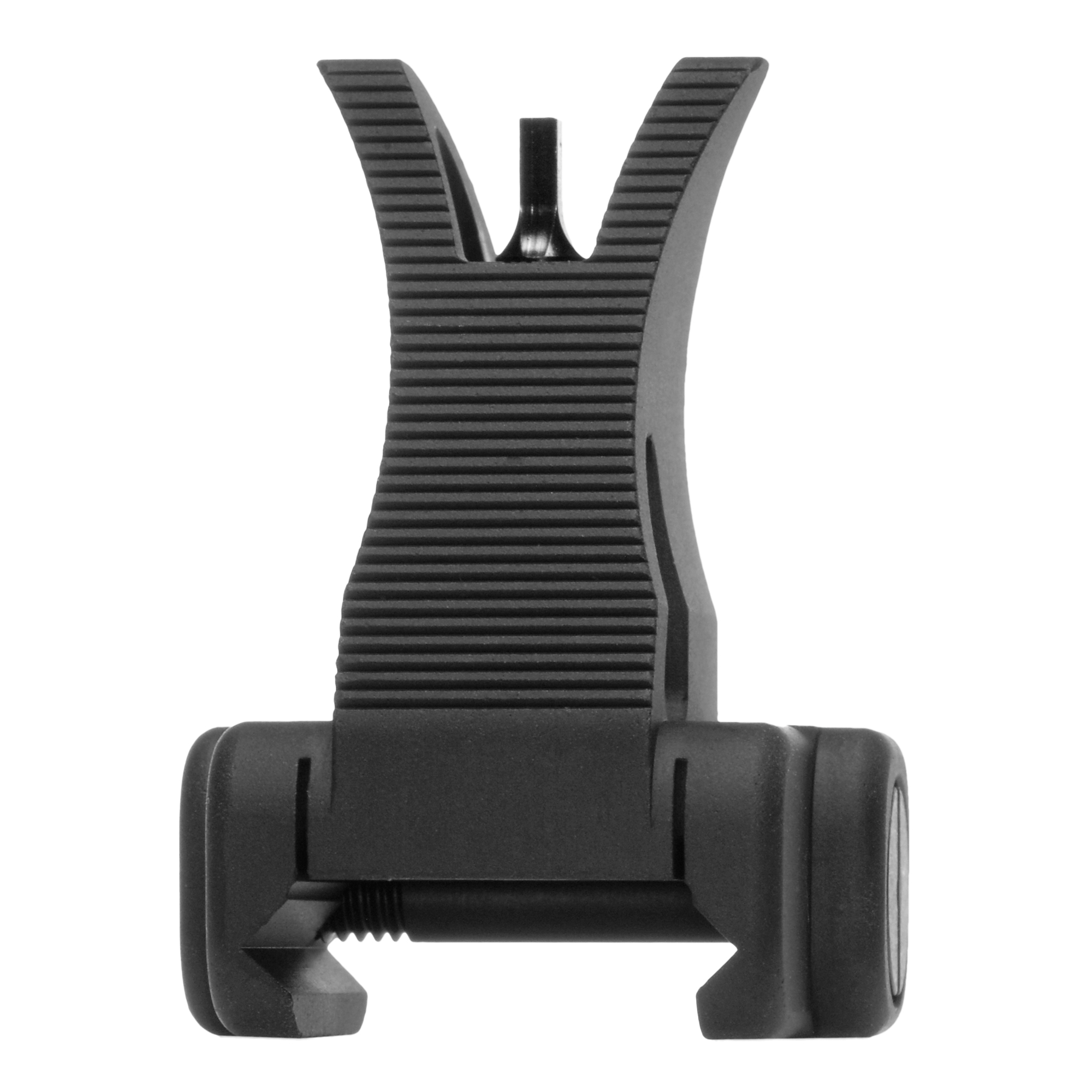 """Durability and dead-on accuracy make Troy BattleSights(TM) the hands-down first choice of Special Ops and Tactical Users Worldwide. Troy's M4 Front Fixed BattleSight"""" a permanent"""" rail-mounted alternative to a standard A2 sight"""" allows limitless mounting options on all-length rails with a serrated ramp."""