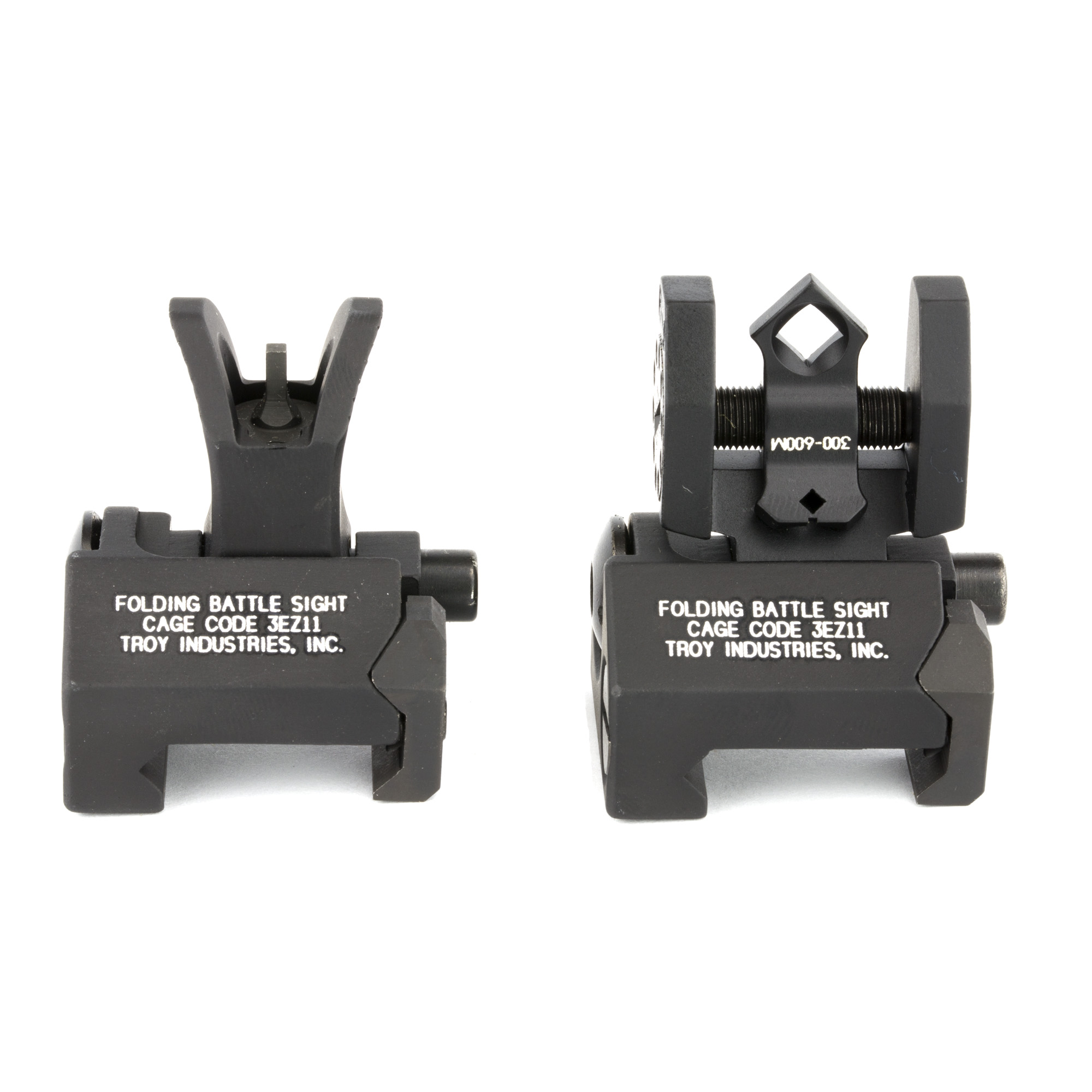 """Troy BattleSights(TM) set the world standard for performance and durability. Now"""" Troy has developed a rugged low-profile sight designed for firearms with top rails higher than the standard M4. For shooters who favor a sightline that's as close to the barrel as possible"""" or for those with raised top rail systems"""" the Troy Micro BattleSight provides an ideal solution."""