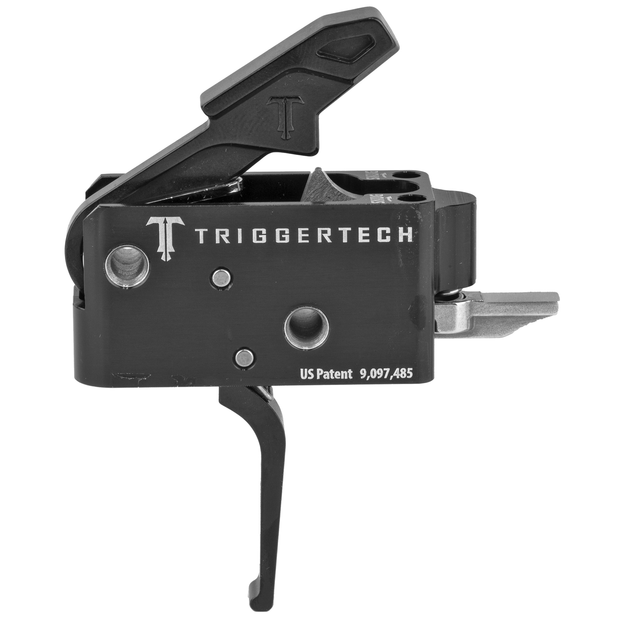 """The Competitive AR Primary Trigger is a non-adjustable trigger designed to enhancing the accuracy and precision of an AR for roles that consistently favor a lighter pull weight. Featuring Frictionless Release Technology"""" this drop-in AR trigger has a short"""" two-stage action"""" designed to feel like a 1911 trigger"""" that provides a true zero-creep break"""" extremely short over-travel"""" a sub 0.030"""" tactical reset and offers outstanding reliability"""" even in the harshest environments. The pull weight is fixed at 3.5 lbs. and due to there being truly zero creep"""" most shooters report the pull weights feeling 0.5lbs lighter than a friction based trigger of the same measured pull weight."""