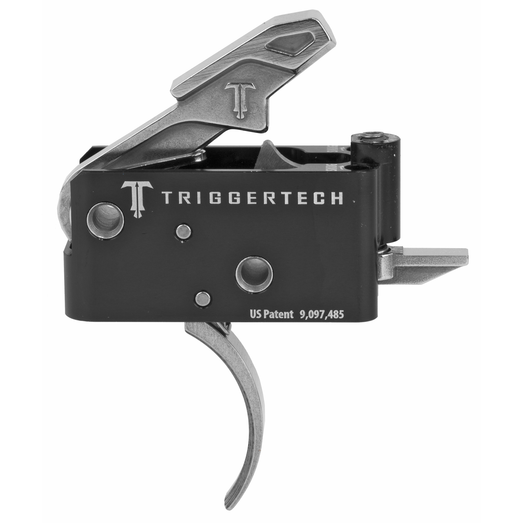 """The Adaptable AR Primary Trigger was built to satisfy the demand of having one trigger capable of enhancing the accuracy and precision of an AR in every role. Featuring Frictionless Release Technology"""" this drop-in AR trigger has a short"""" two-stage action"""" designed to feel like a 1911 trigger"""" that provides a true zero-creep break"""" extremely short overtravel"""" a sub 0.030"""" tactical reset and offers outstanding reliability"""" even in the harshest environments. Utilizing CLKR Technology"""" the pull weight is quickly and confidently adjusted from 2.5 - 5.0 lbs. in 2oz increments from a set screw with the trigger installed. Due to there being truly zero creep"""" most shooters report the pull weights feeling 0.5lbs lighter than a friction based trigger of the same measured pull weight."""
