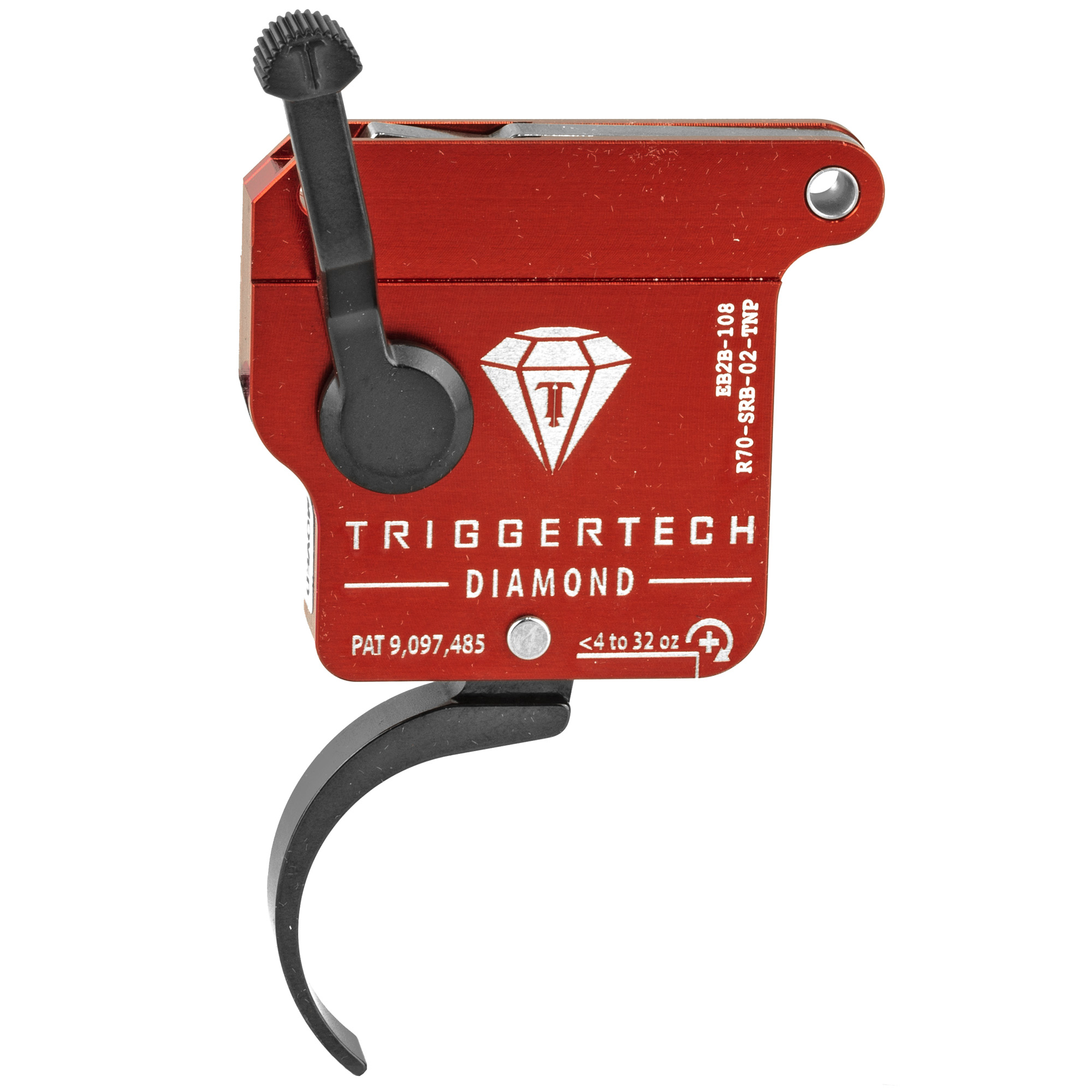 The Rem 700 Diamond is truly zero creep and is the most consistent and crisp breaking trigger you will ever use. It features new variable rate adjustment technology that enables quick and confident adjustment from