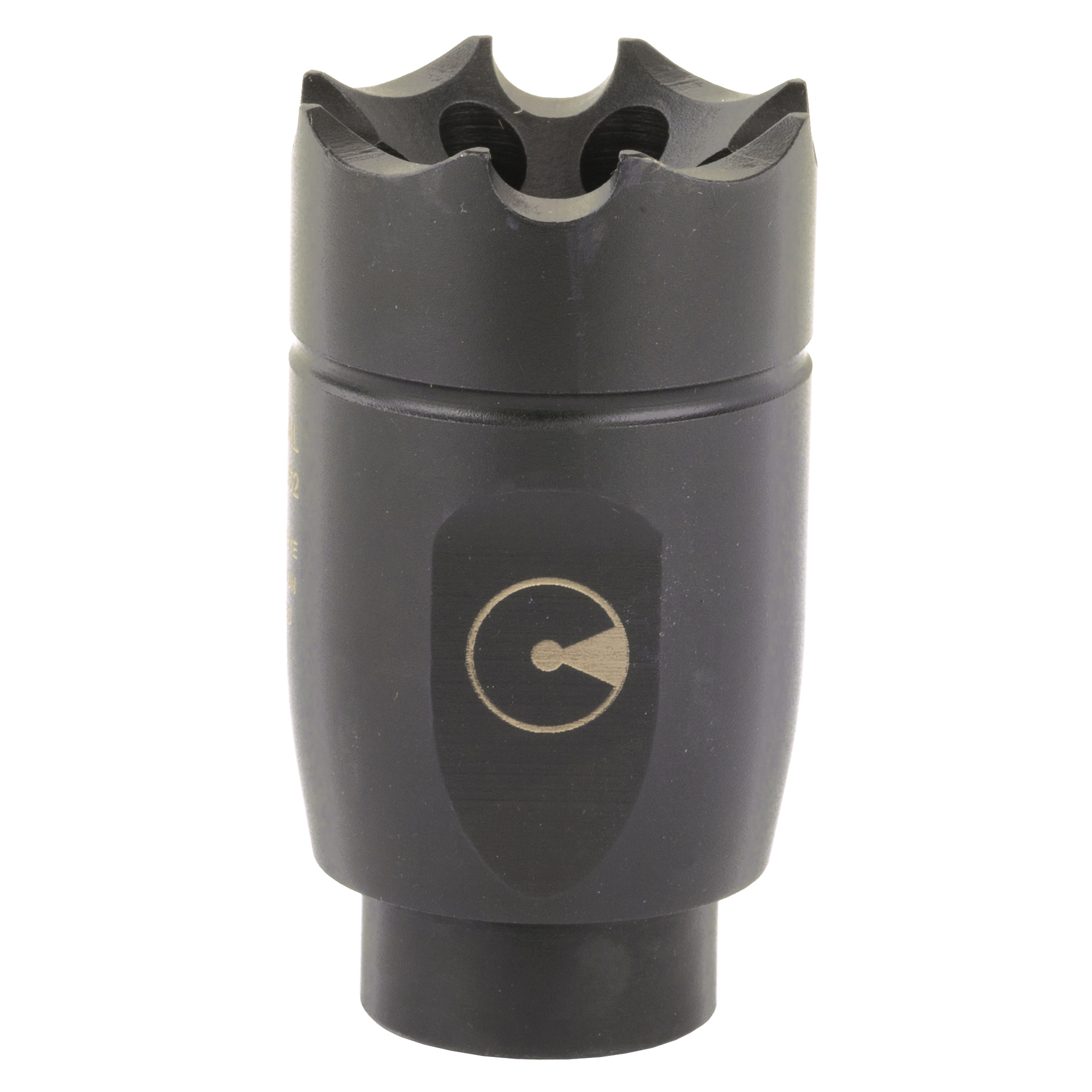 "ATHENA allows a shooter to inexpensively upgrade their rifle to the Dynamount Sighting System. Muzzle rise has been optimized as well"" with gas vented at an angle then forward. This sends a lower percent of sound back towards the shooter"" optimizing sonic performance over recoil. Like all Ultradyne muzzle devices"" a timing nut is included for easy installation."